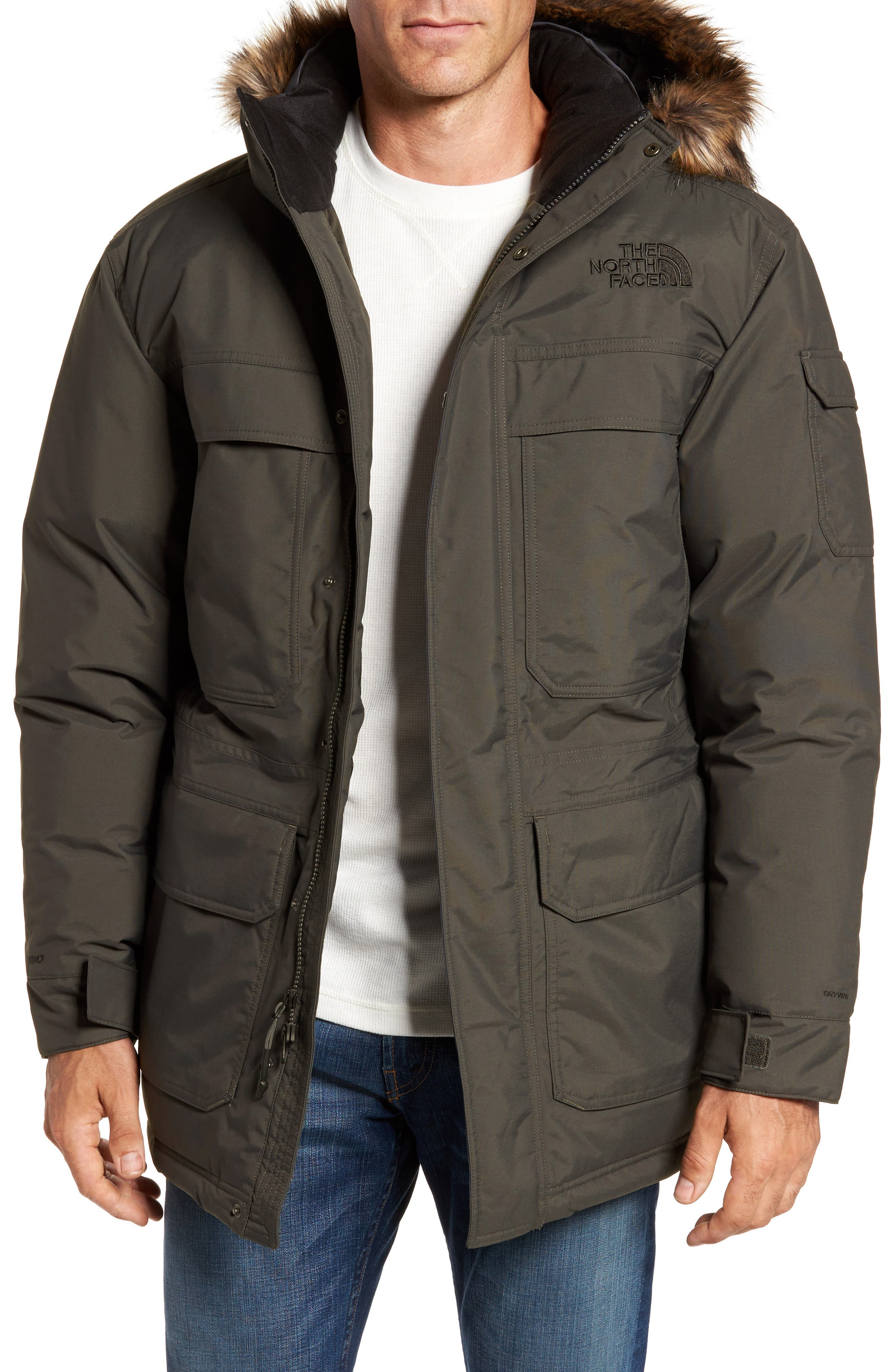 McMurdo III Waterproof Parka,                         Main,                         color, New Taupe Green