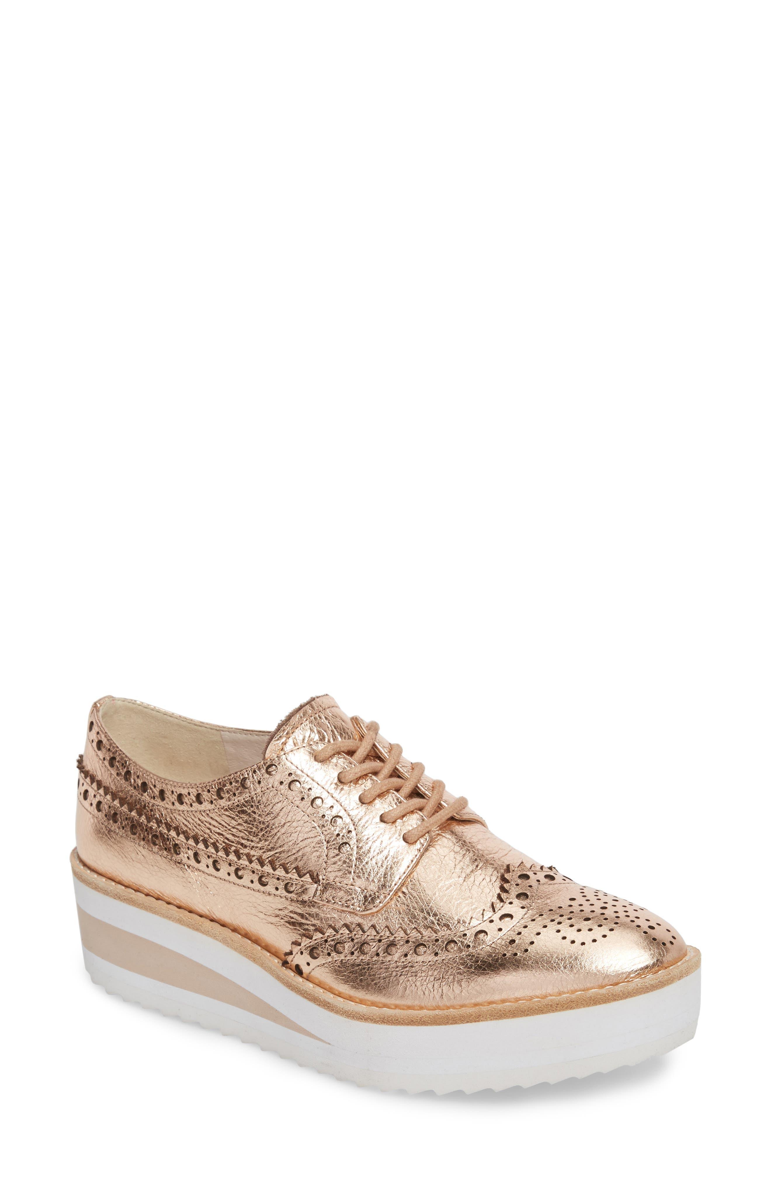 Alternate Image 1 Selected - Kenneth Cole New York Roberta Platform Sneaker (Women)