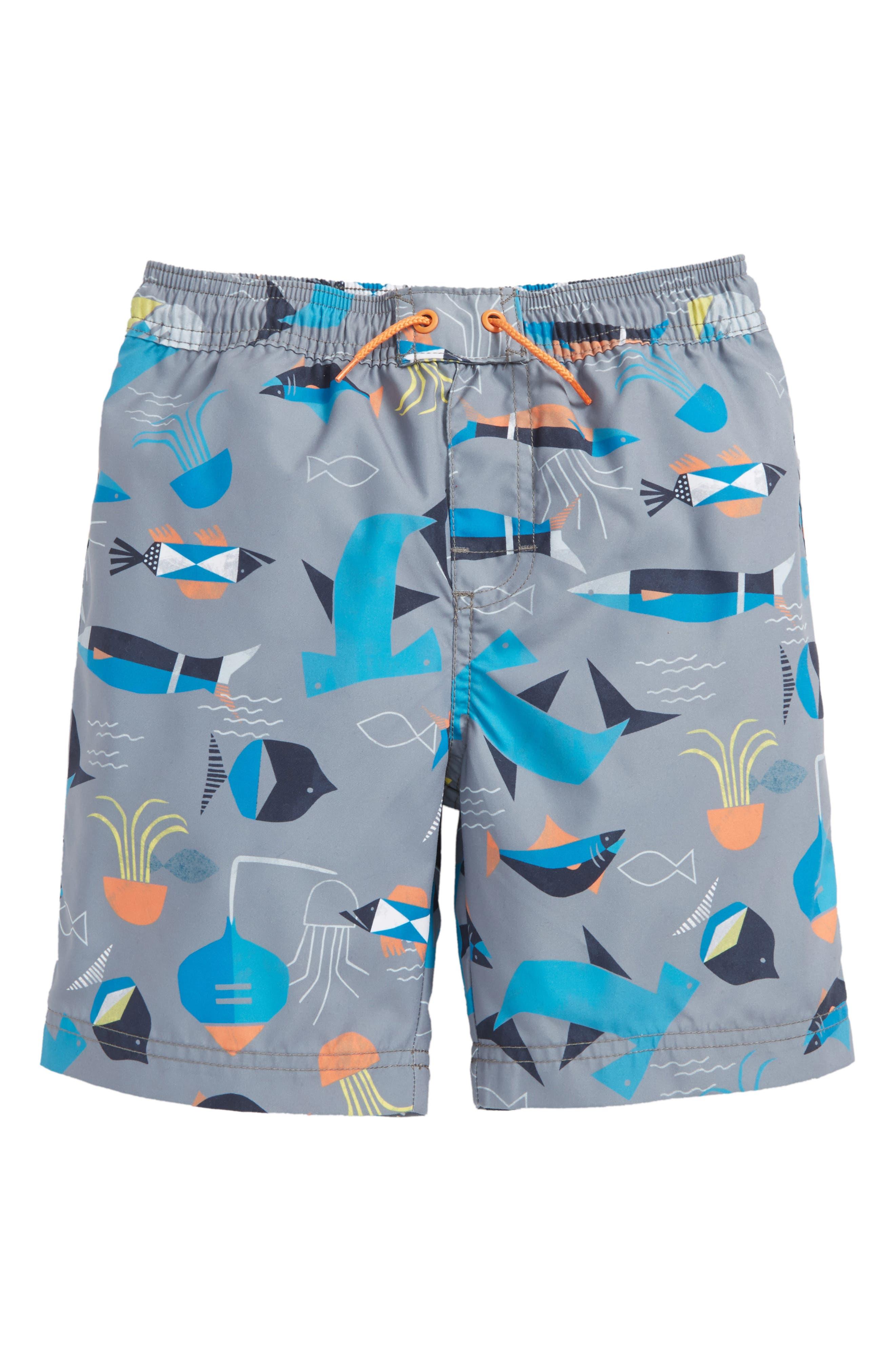 Tea Collection Salt Water Swim Trunks (Toddler Boys & Little Boys)