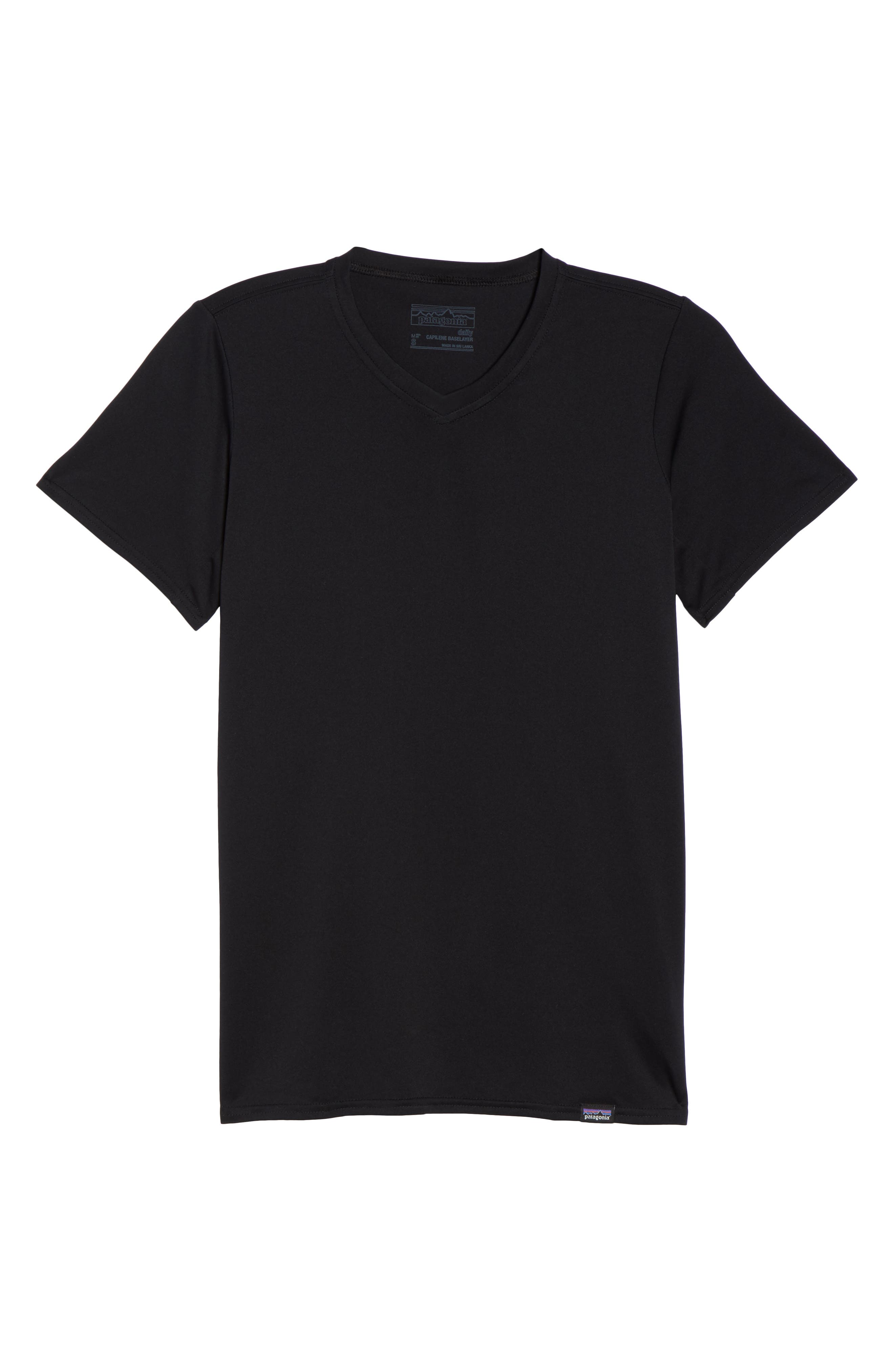Capilene<sup>®</sup> Dailty T-Shirt,                             Alternate thumbnail 7, color,                             Black
