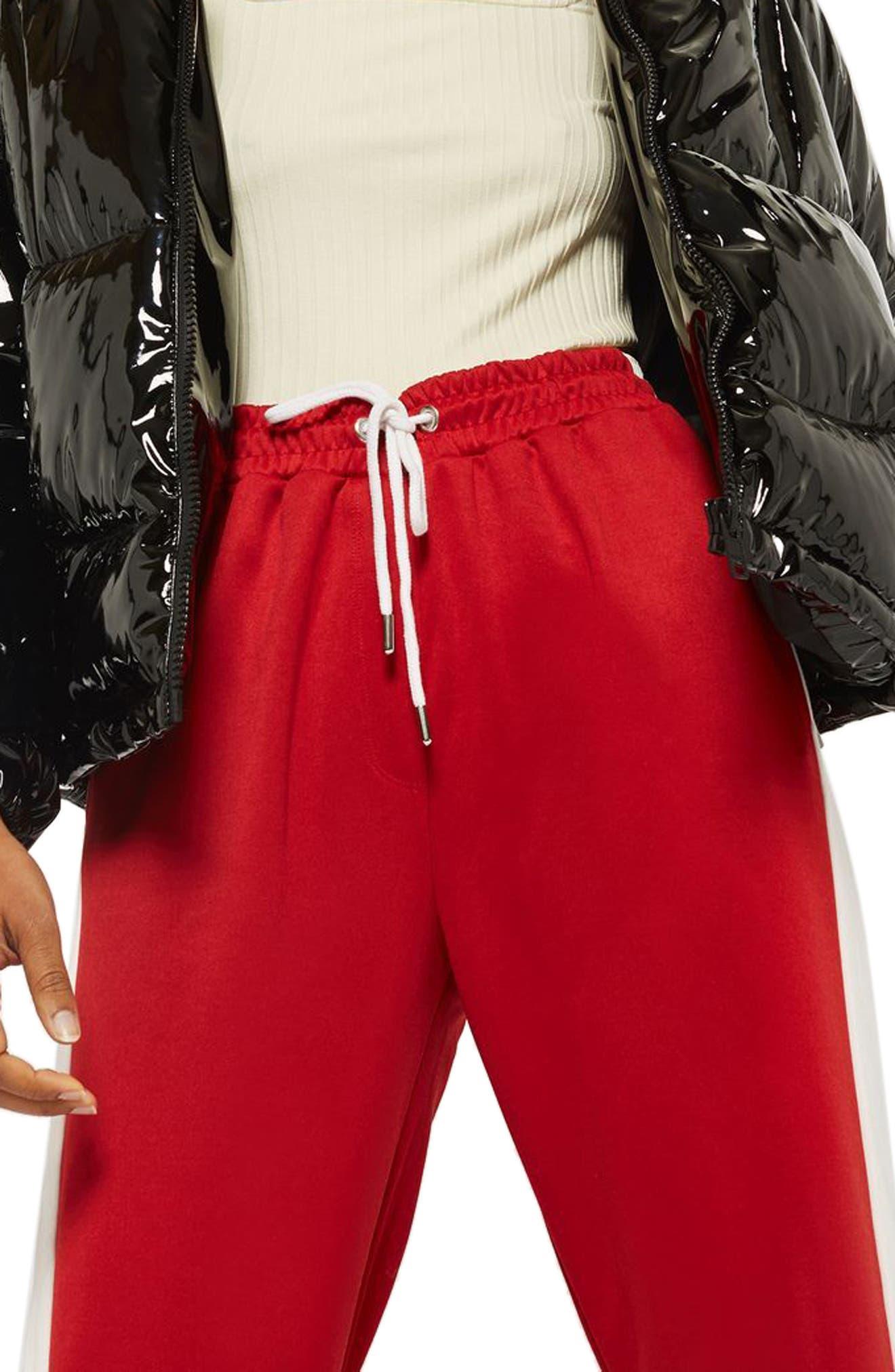 Topshop Side Stripe Track Pants