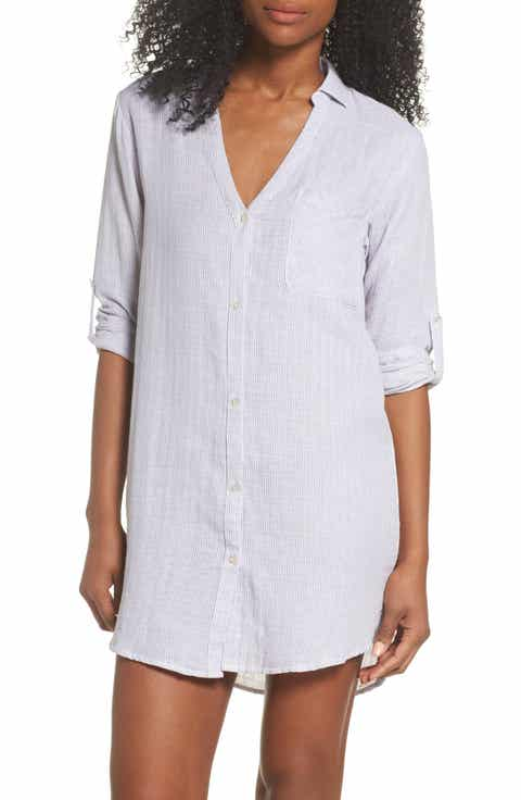 Papinelle Stripe Sleep Shirt