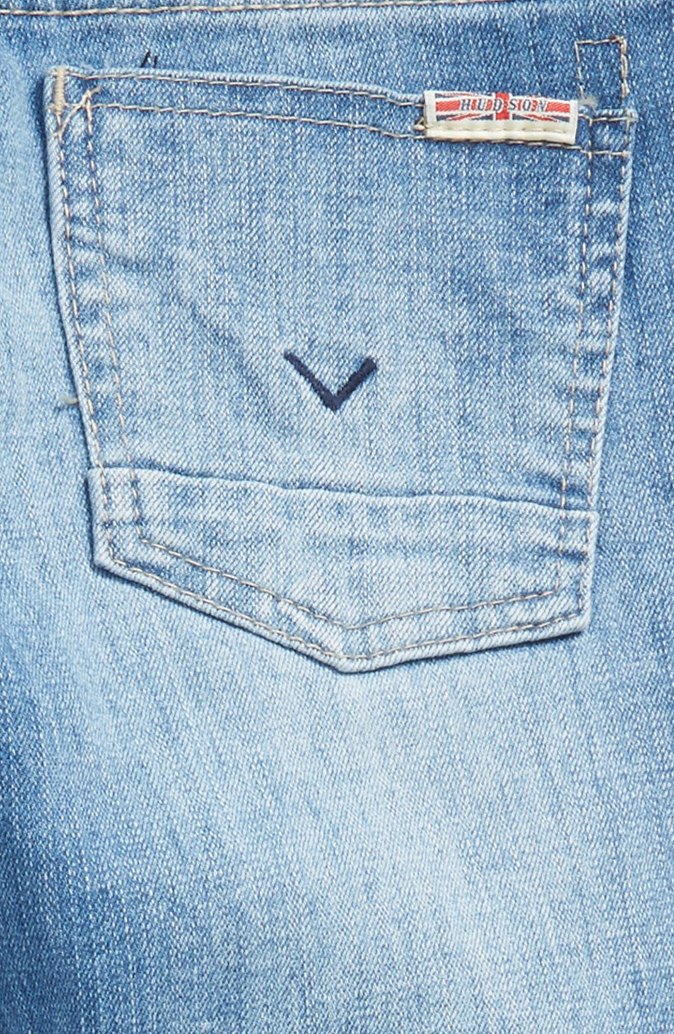 Jude Skinny Jeans,                             Alternate thumbnail 3, color,                             Stone Wash