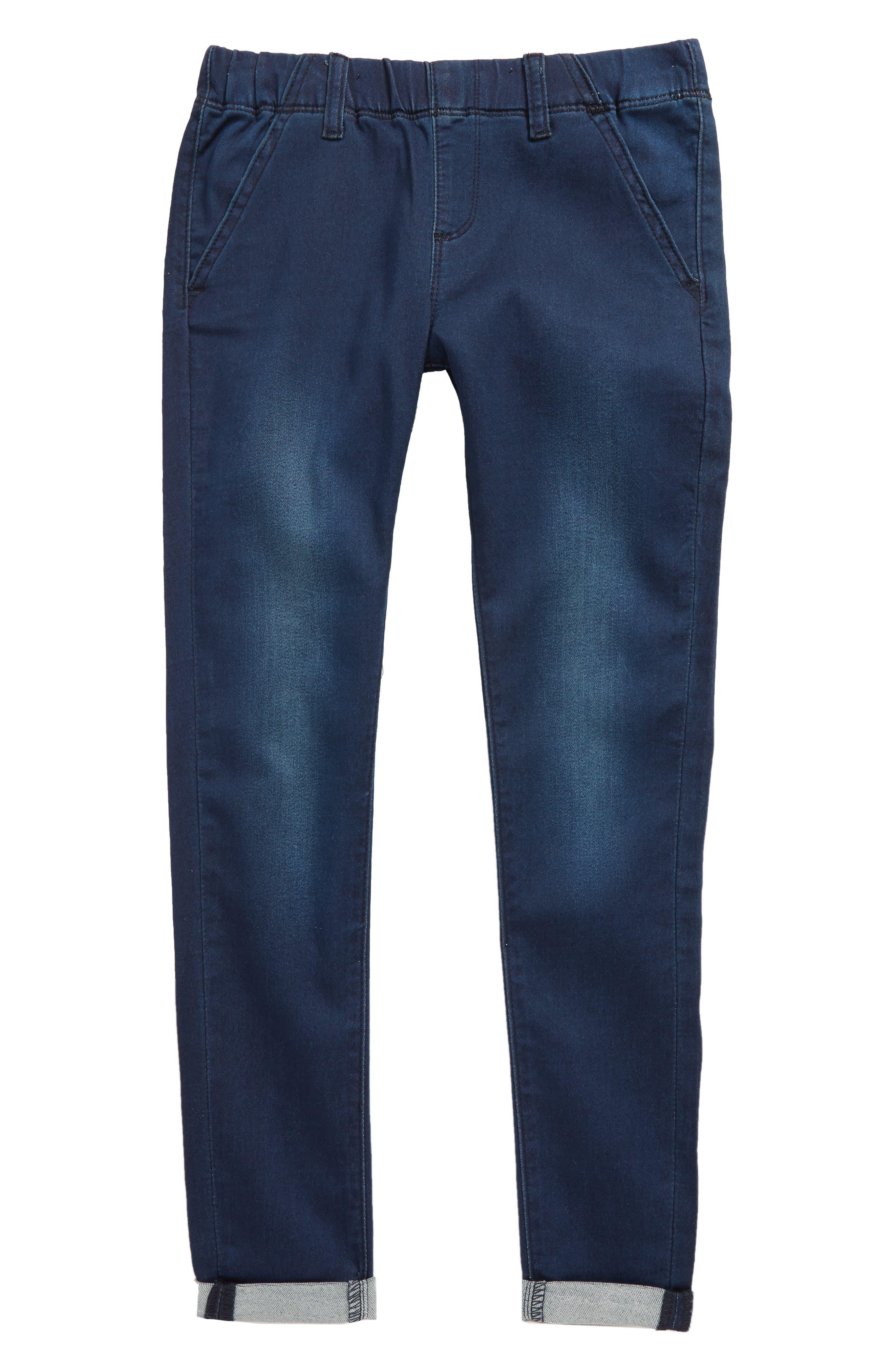 Knit Trousers,                         Main,                         color, Indigo