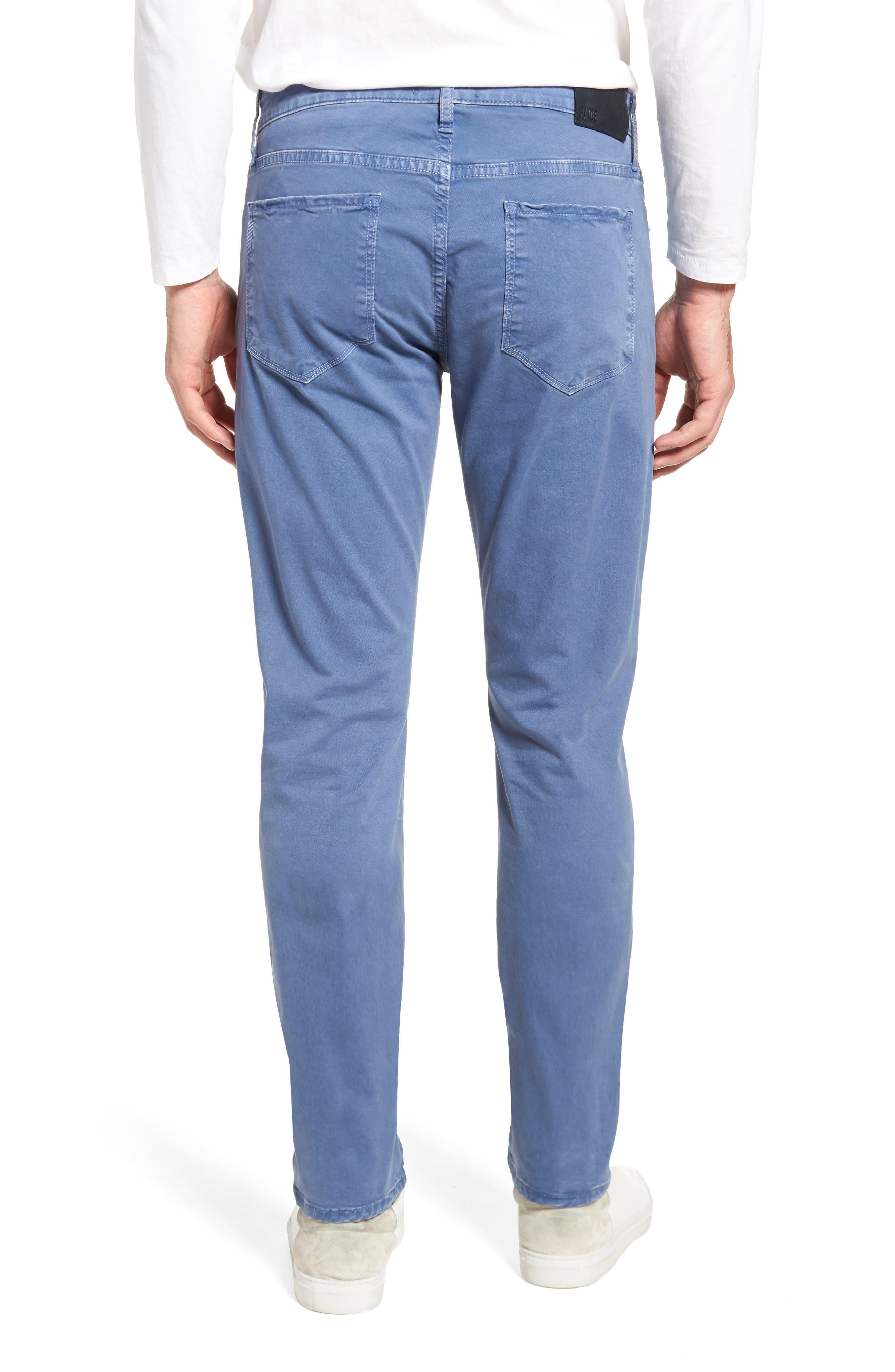 Lennox Slim Fit Five-Pocket Pants,                             Alternate thumbnail 2, color,                             Vintage Mariner