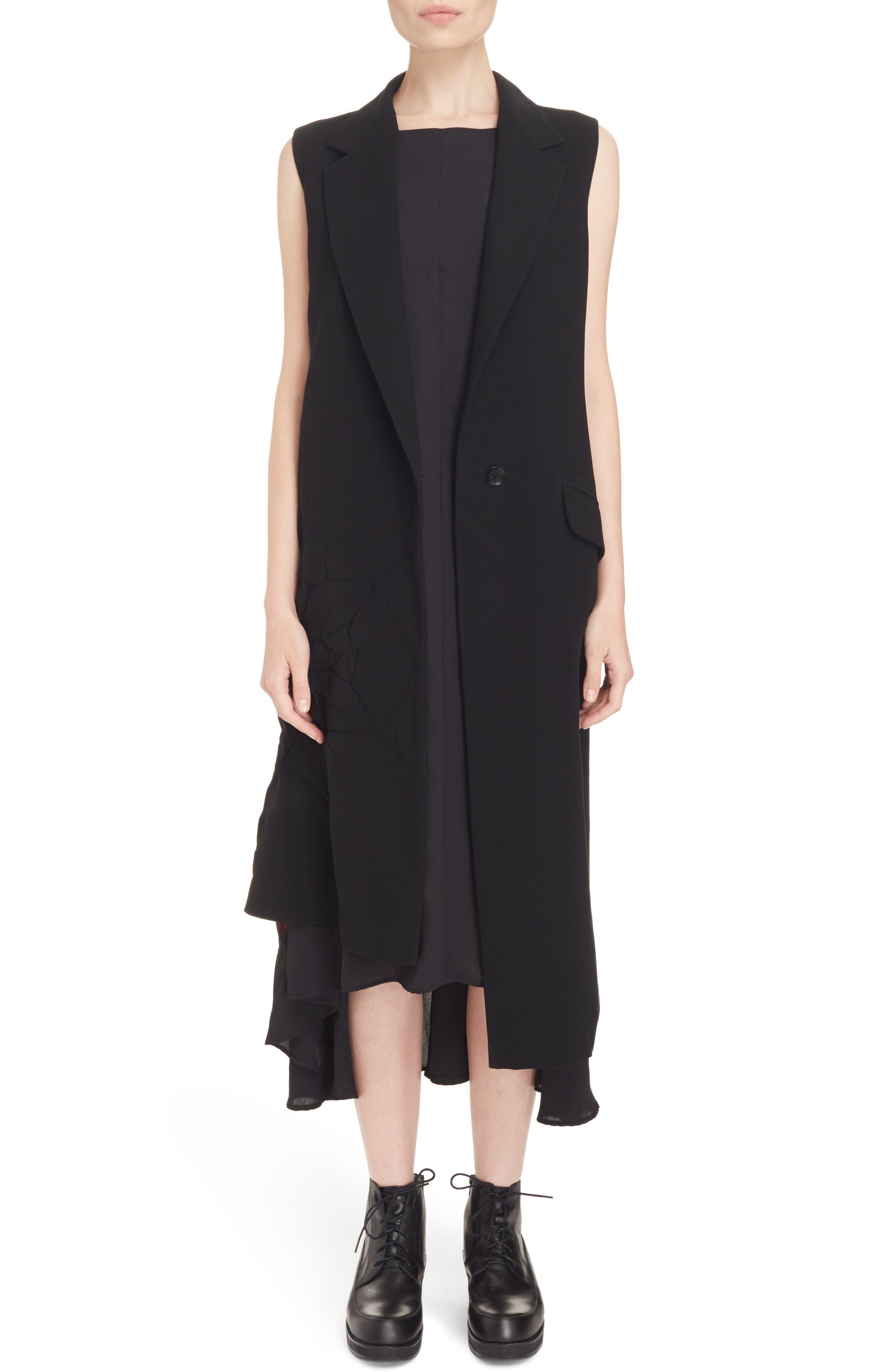 Alternate Image 1 Selected - Y's by Yohji Yamamoto Asymmetrical Vest
