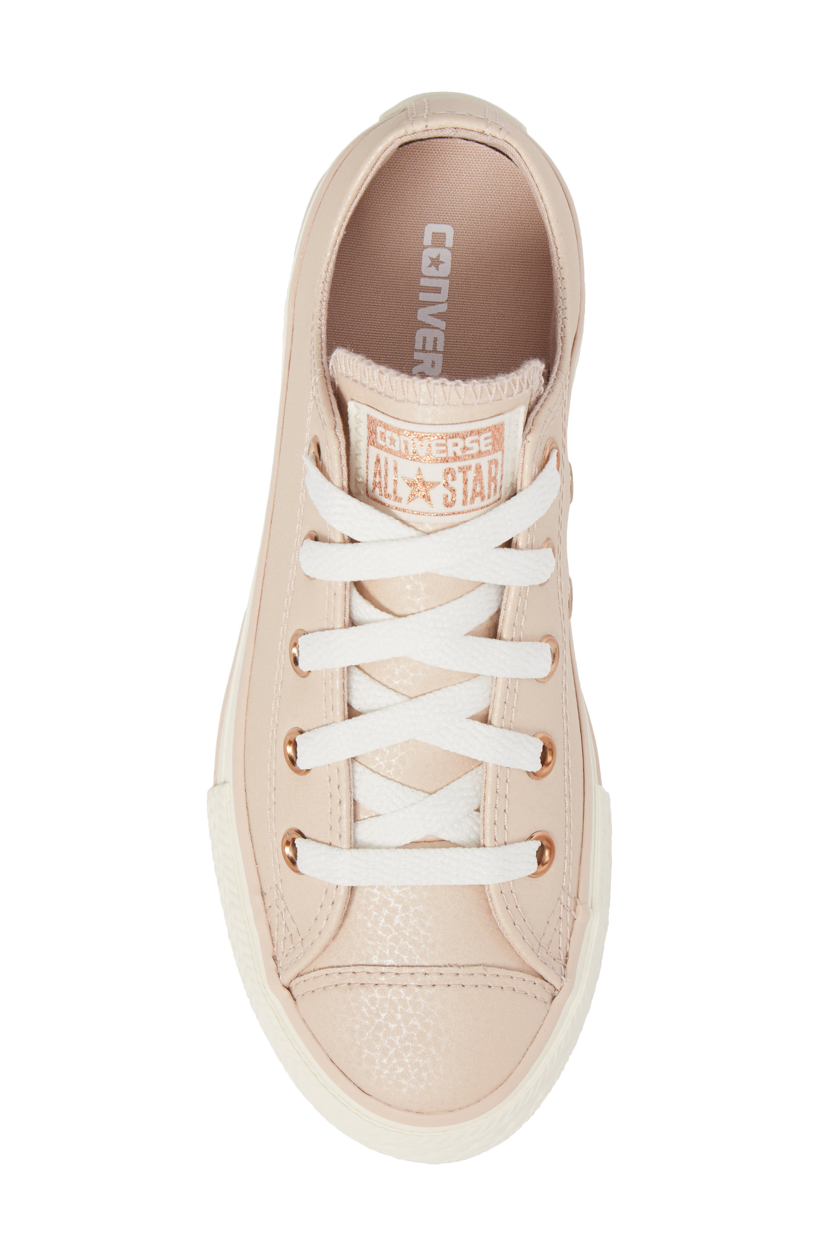 All Star<sup>®</sup> Fashion Low Top Sneaker,                             Alternate thumbnail 5, color,                             Particle Beige
