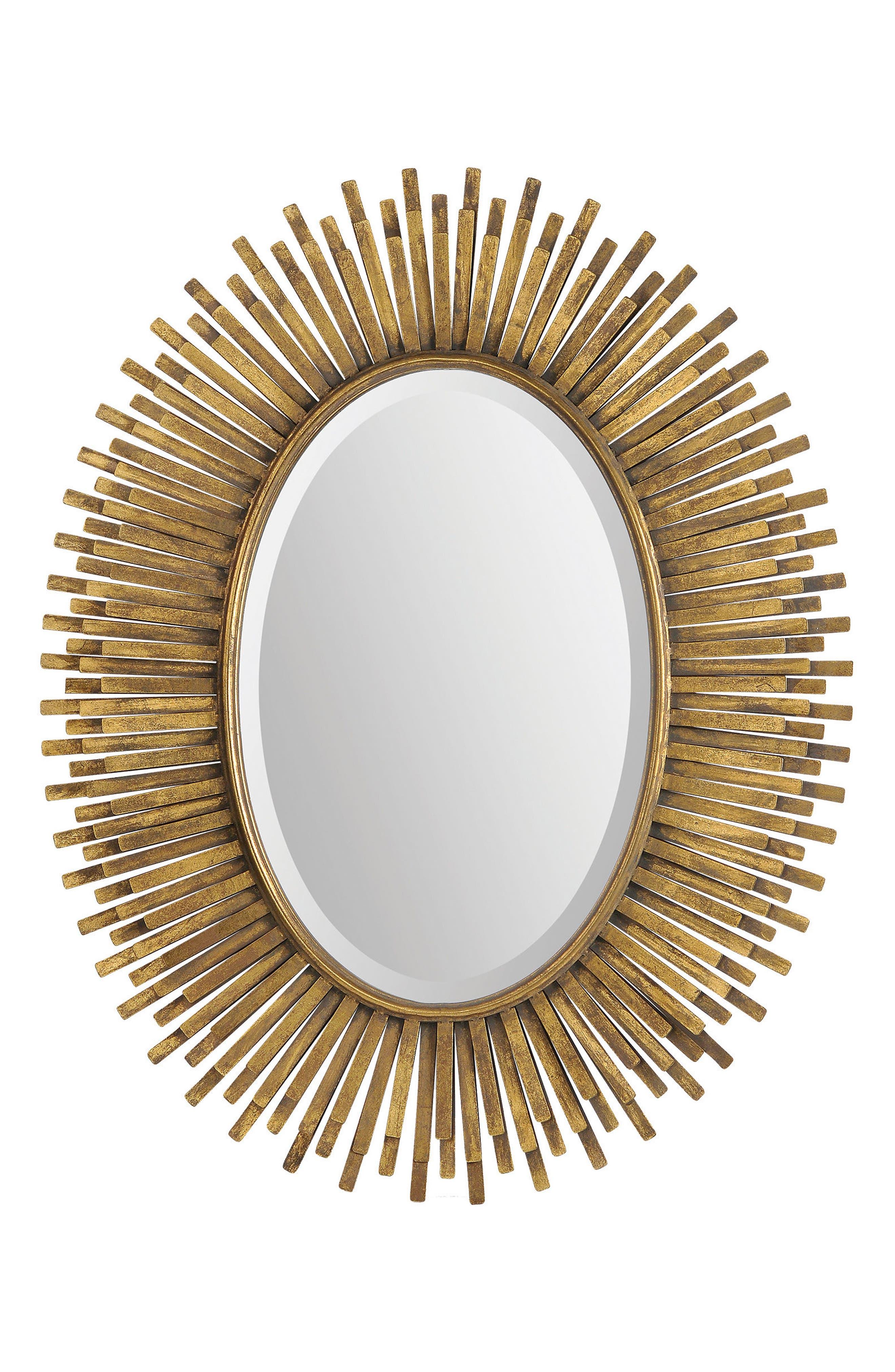 Sparta Mirror,                         Main,                         color, Antique Gold Leaf