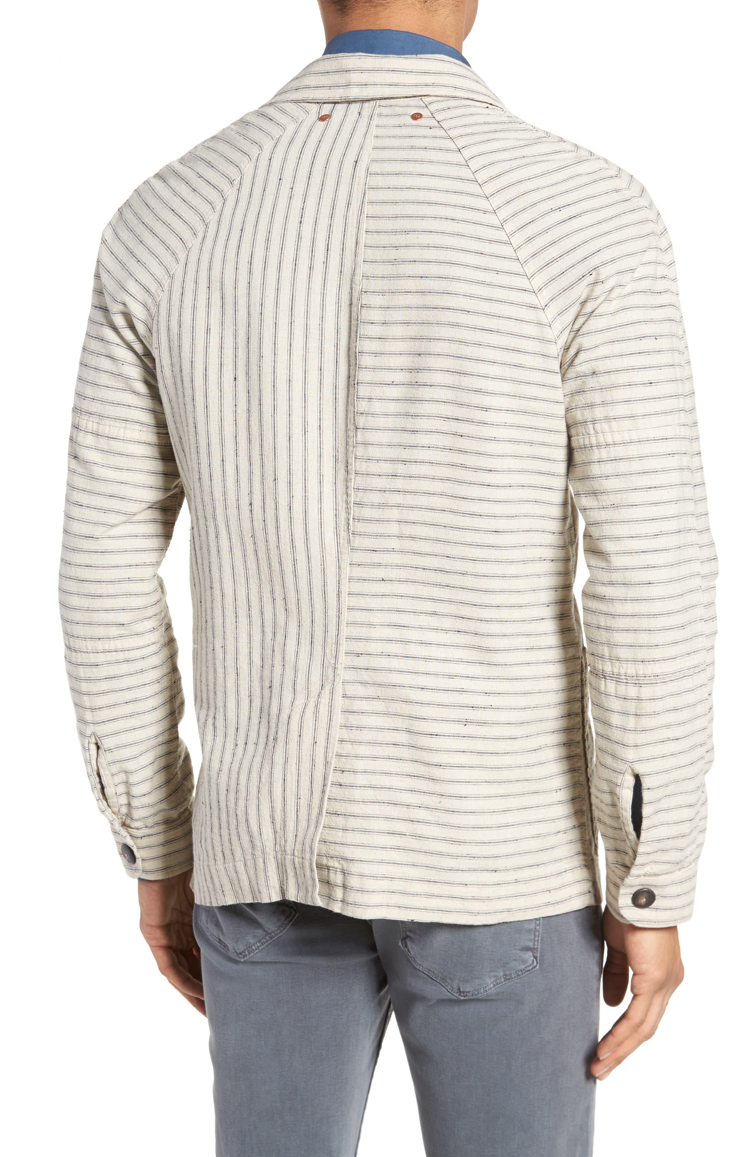 Alternate Image 2  - Billy Reid Harrison Linen & Cotton Jacket