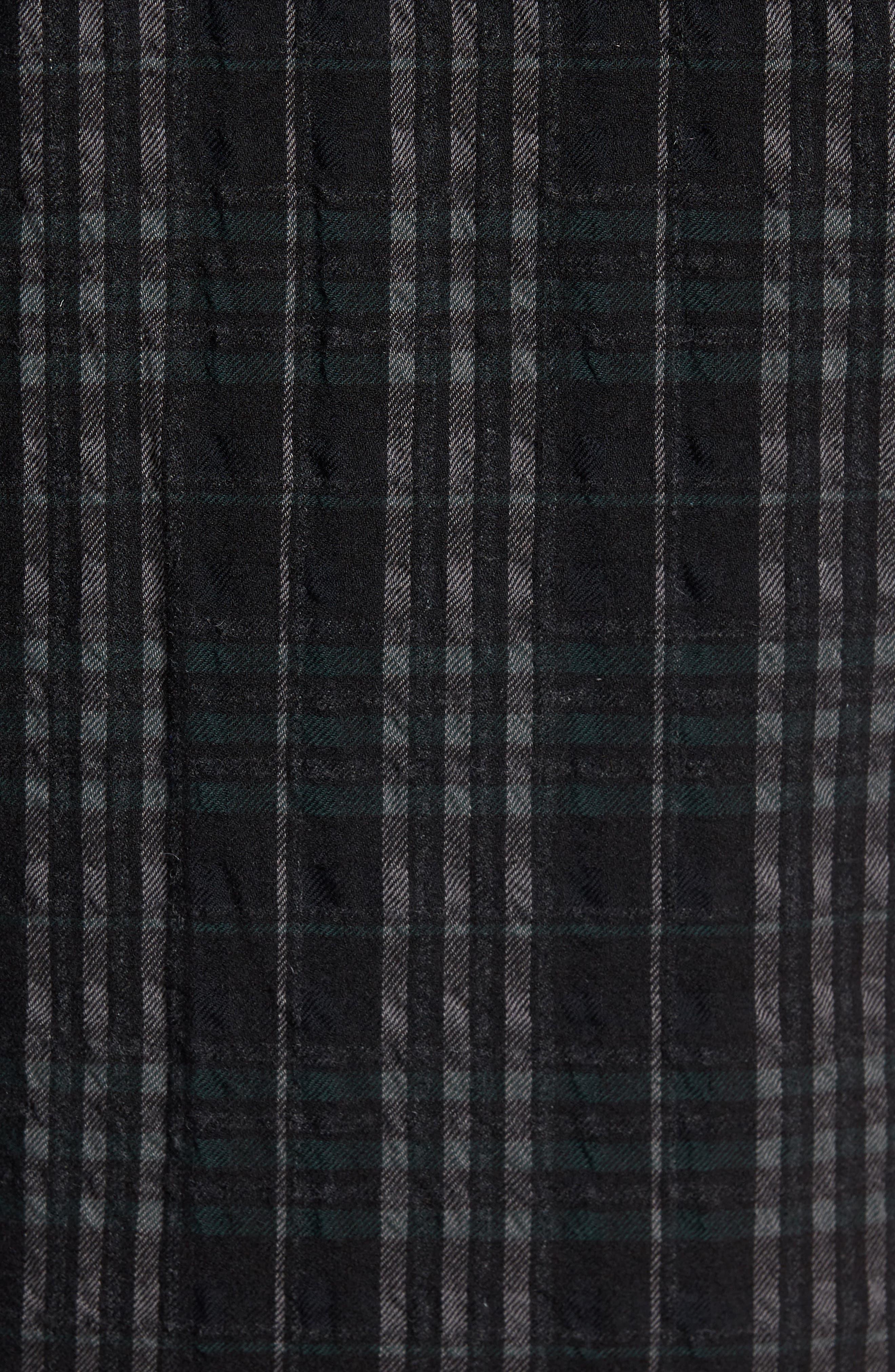 Alternate Image 5  - Theory Wooly Reversible Zip Front Shirt Jacket