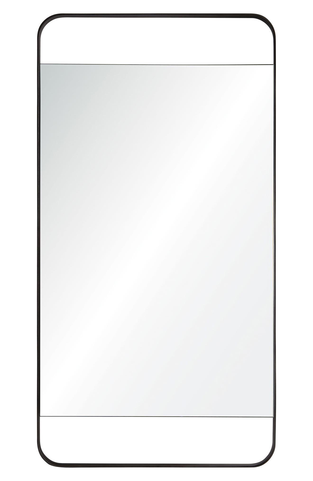 Tiffey Mirror,                         Main,                         color, Charcoal Grey