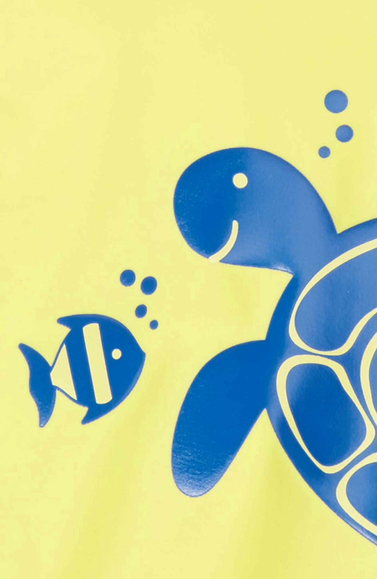 Turtle UPF 50+ Rashguard,                             Alternate thumbnail 2, color,                             Green