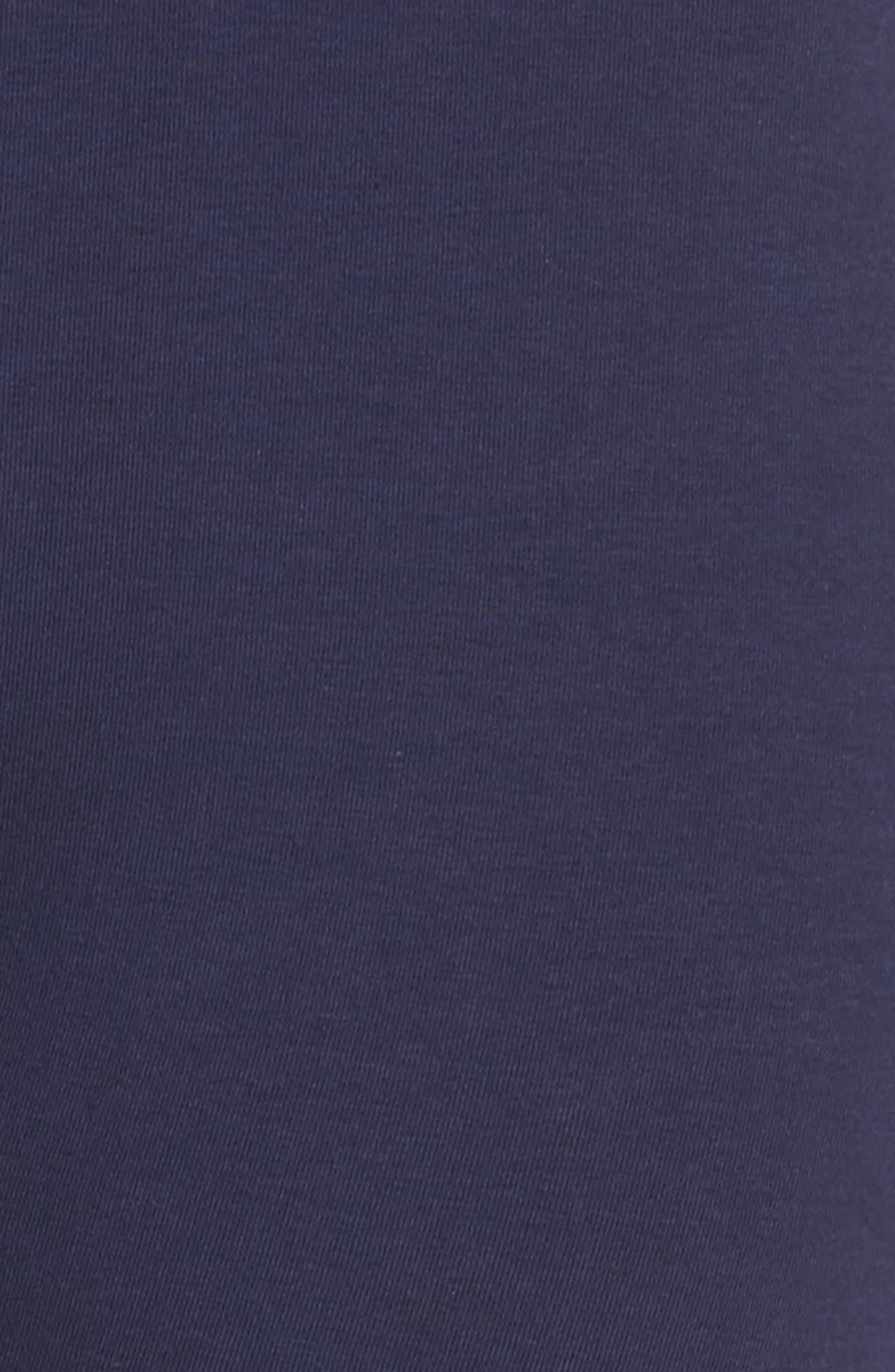 Harley Leggings,                             Alternate thumbnail 6, color,                             Navy/ White/ Chinese Red