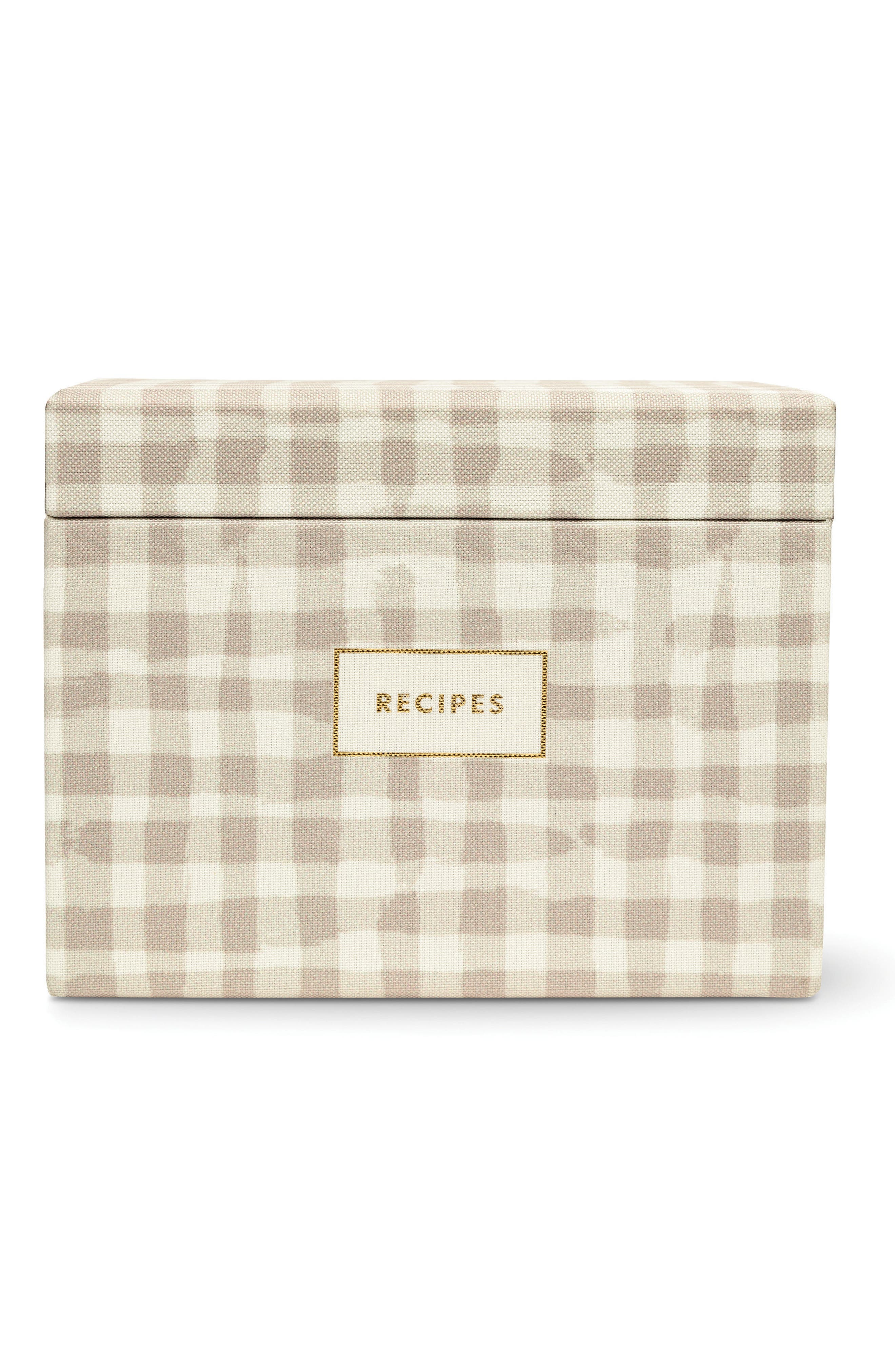 kate spade new york recipe box