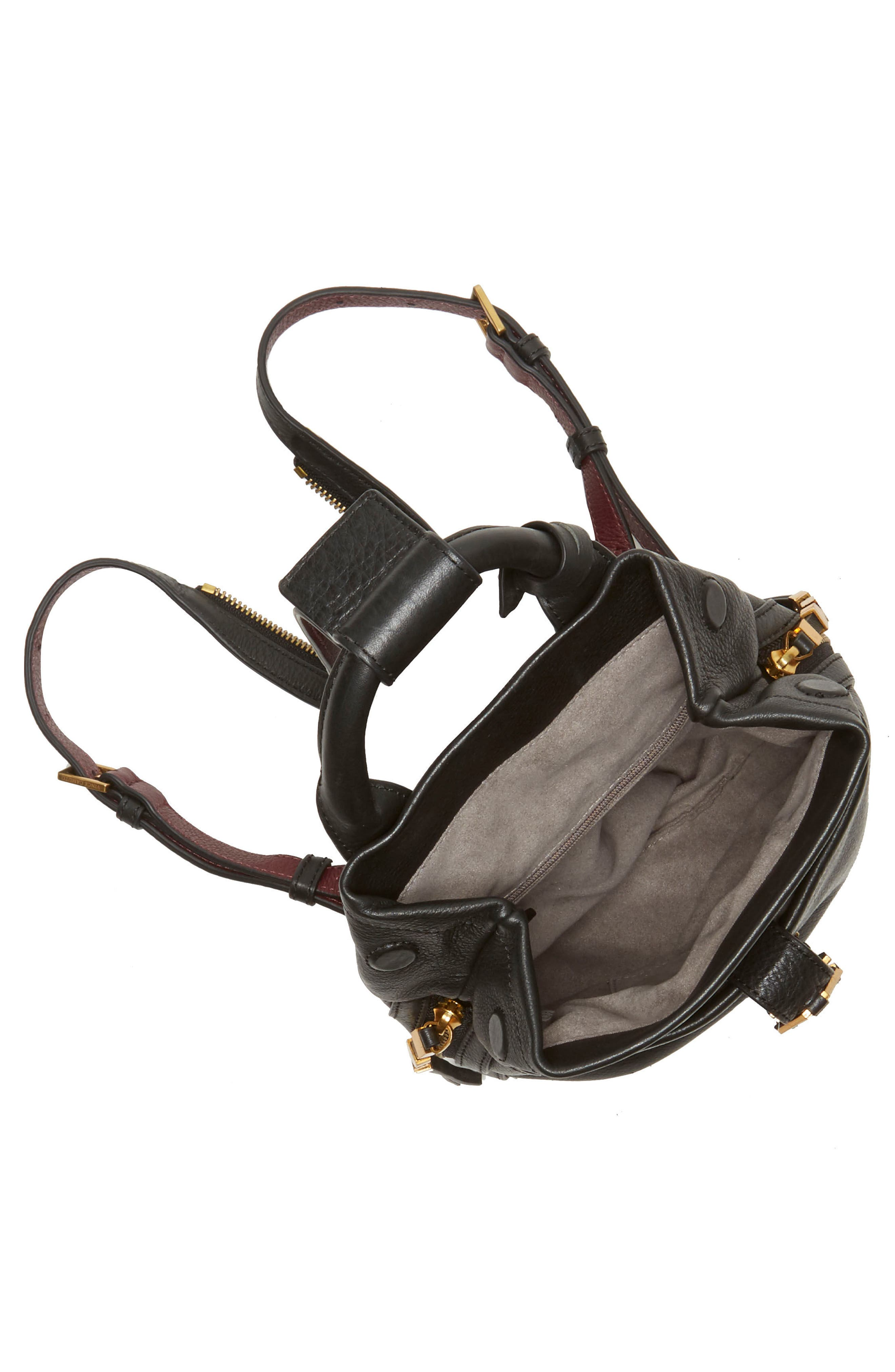 Alternate Image 3  - Vince Camuto Small Luk Adjustable Leather Backpack