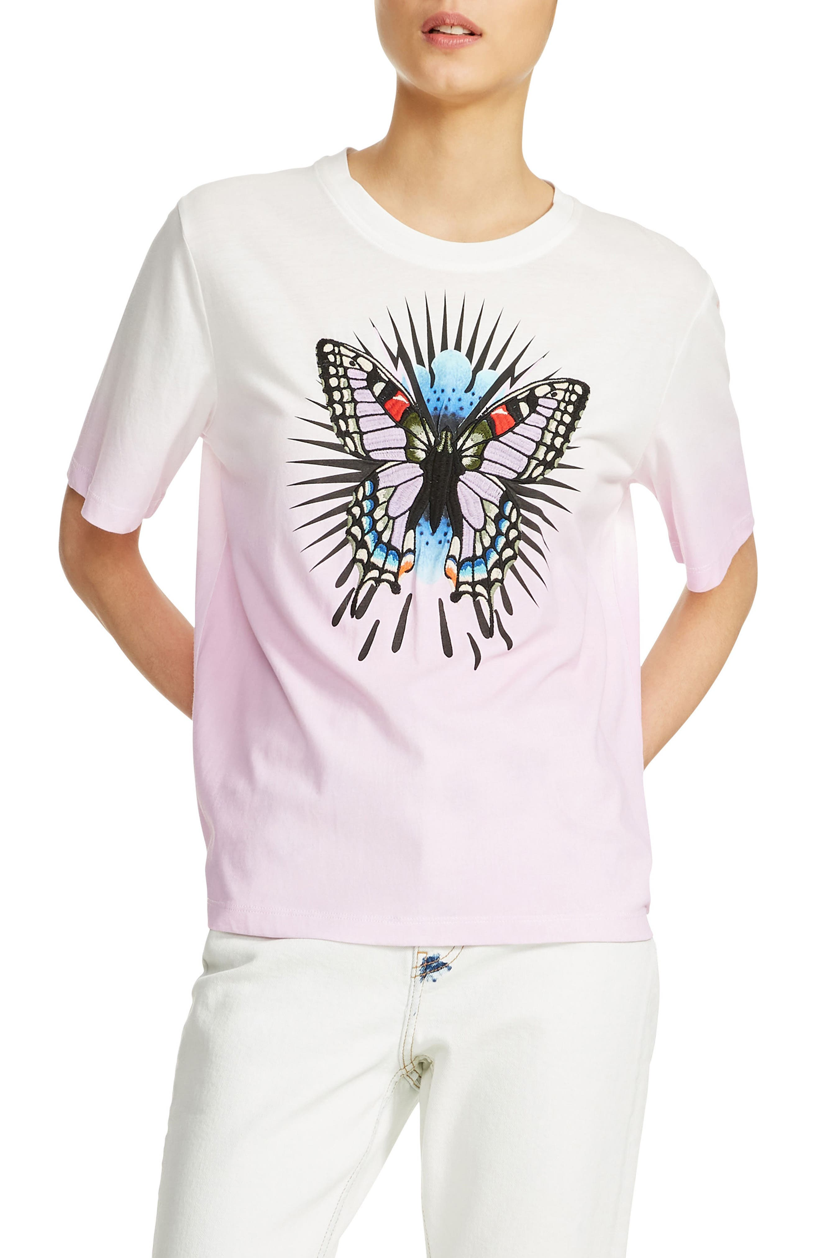 maje Toy Embroidered Tee