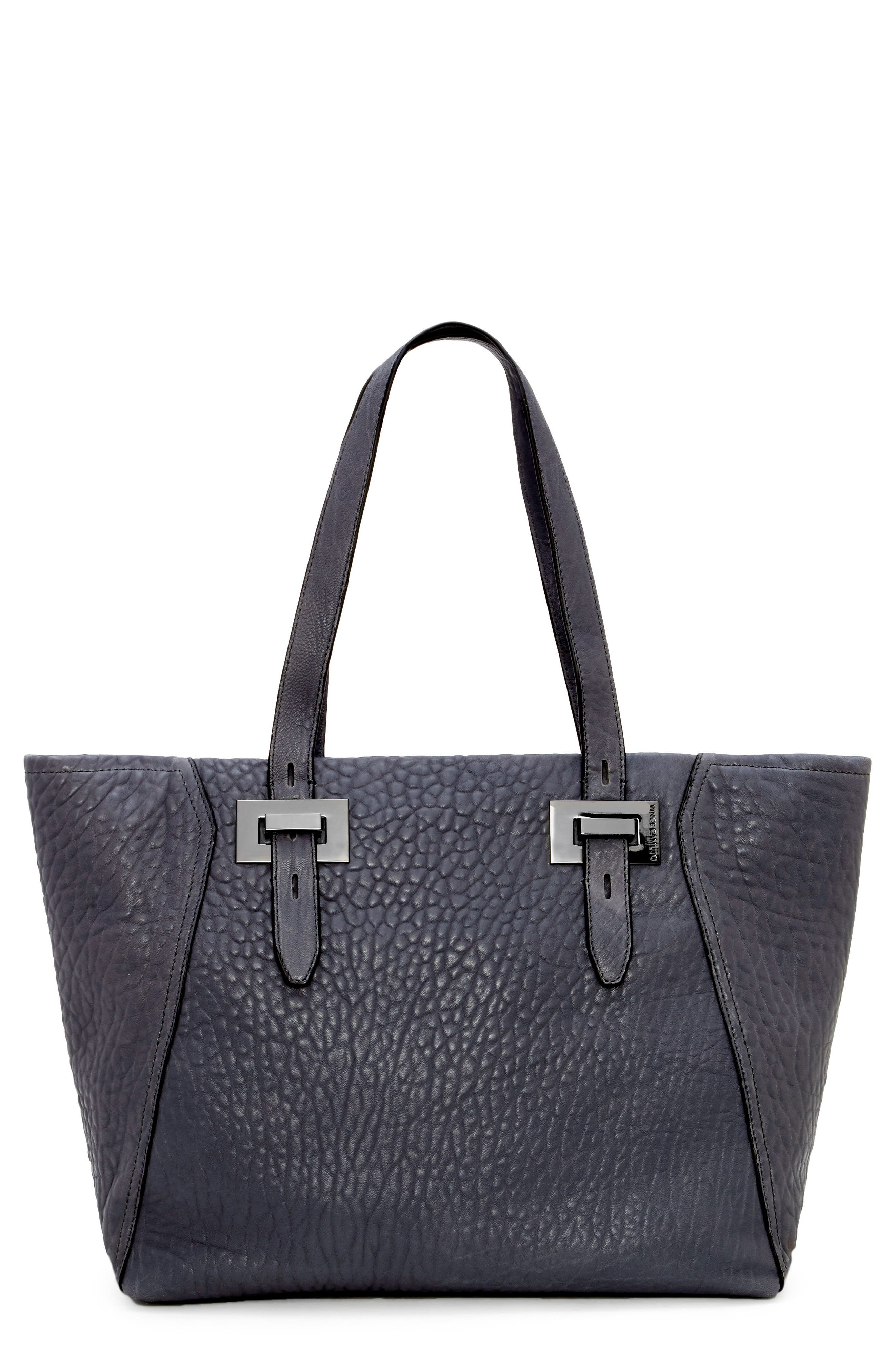 Alternate Image 1 Selected - Vince Camuto Fava Lambskin Leather Tote