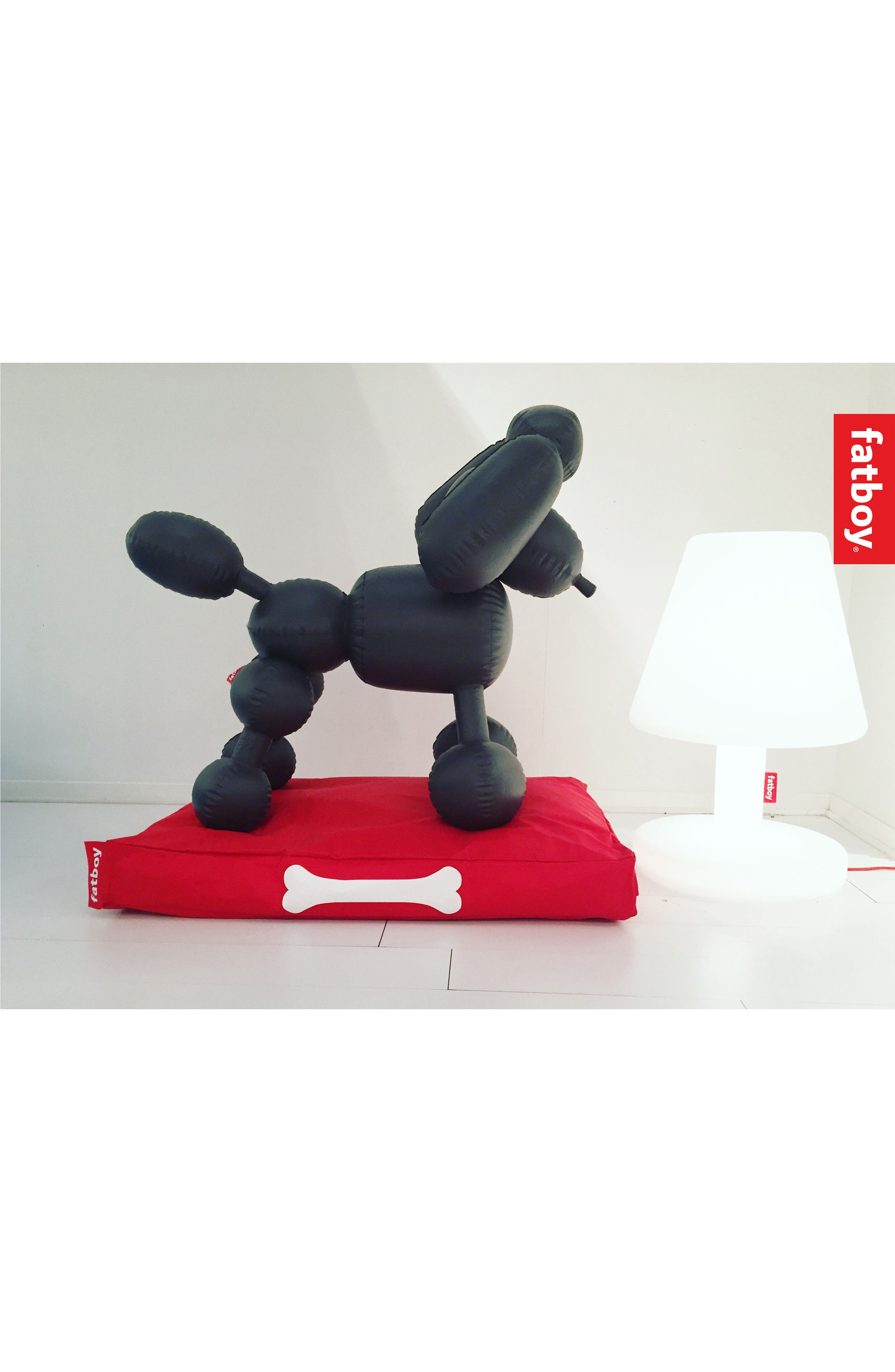 Dolly Inflatable Dog Decoration,                             Alternate thumbnail 7, color,                             Anthracite