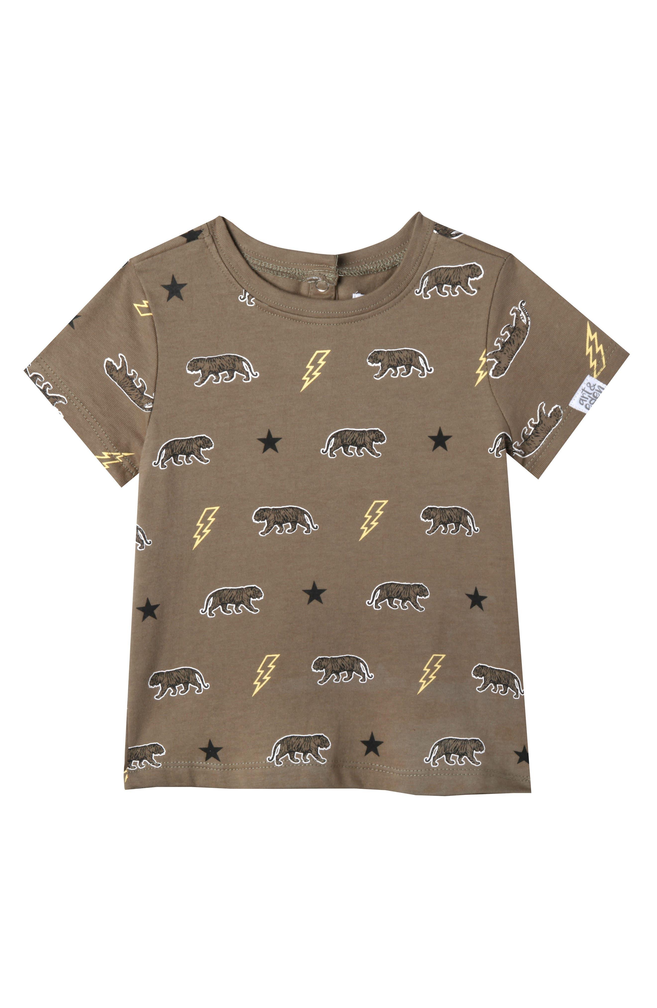 Main Image - Art & Eden Samuel T-Shirt (Baby Boys)