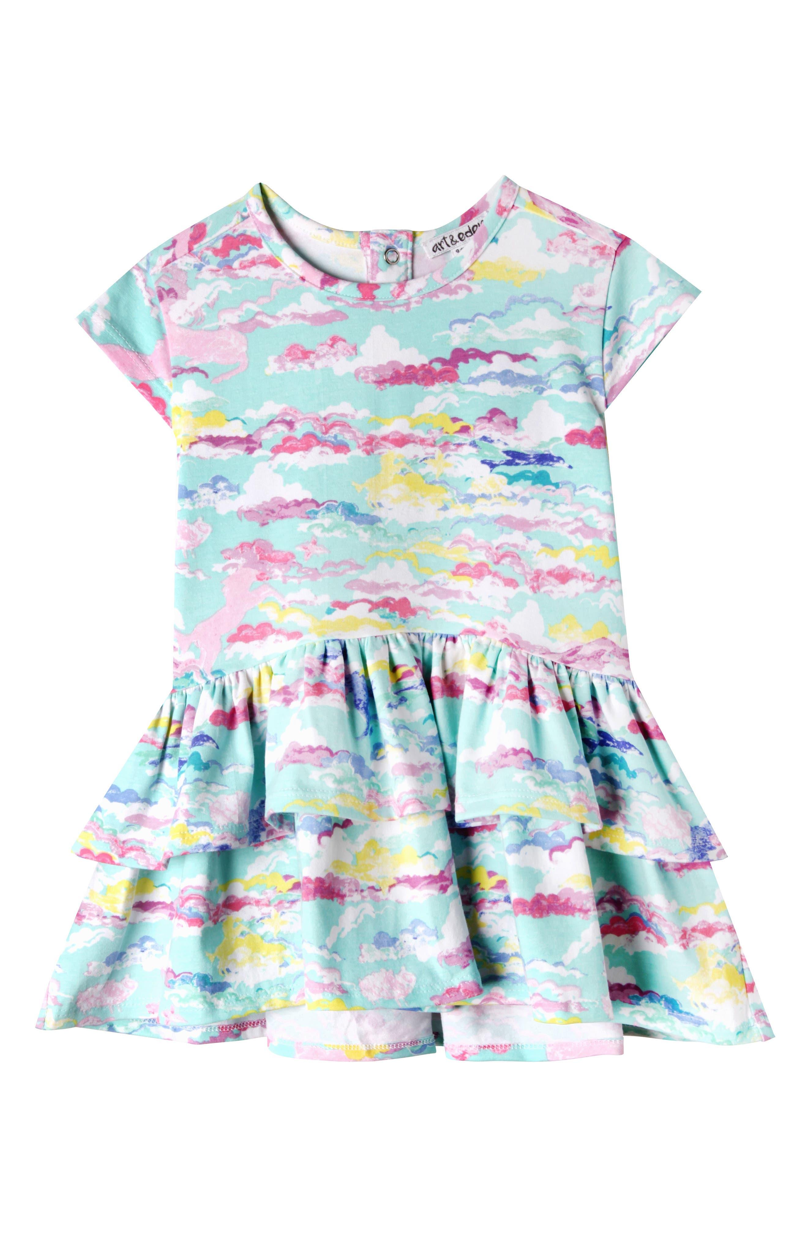 Main Image - Art & Eden Kinsley Day Dreamer Dress (Baby Girls)