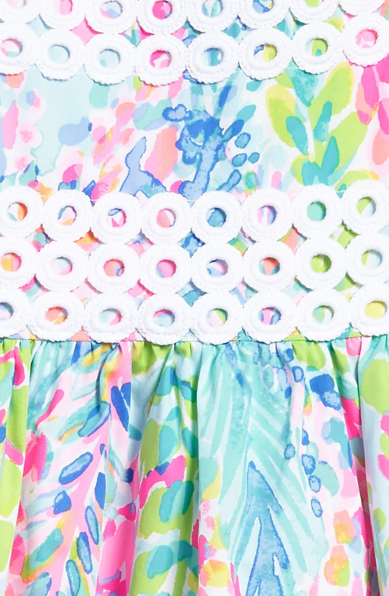 Alternate Image 2  - Lilly Pulitzer® Elize Fit & Flare Dress (Toddler Girls, Little Girls & Big Girls)