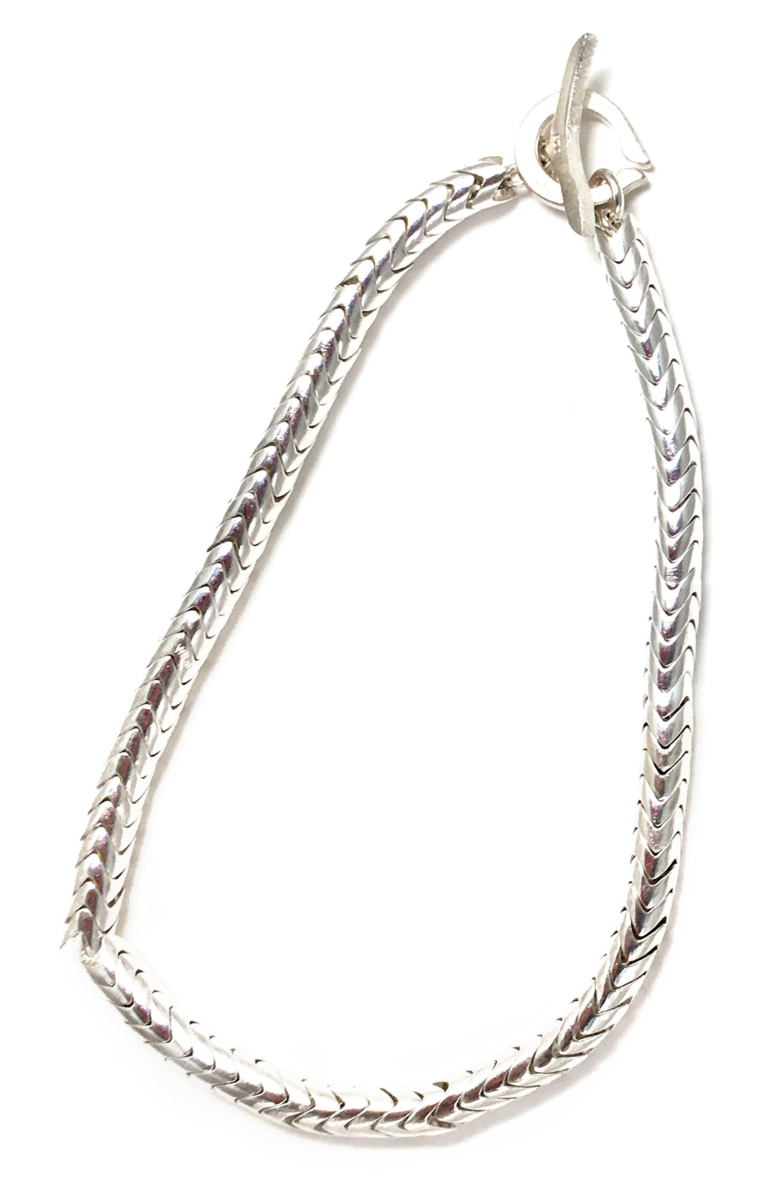Mikia Silver Bead Bracelet