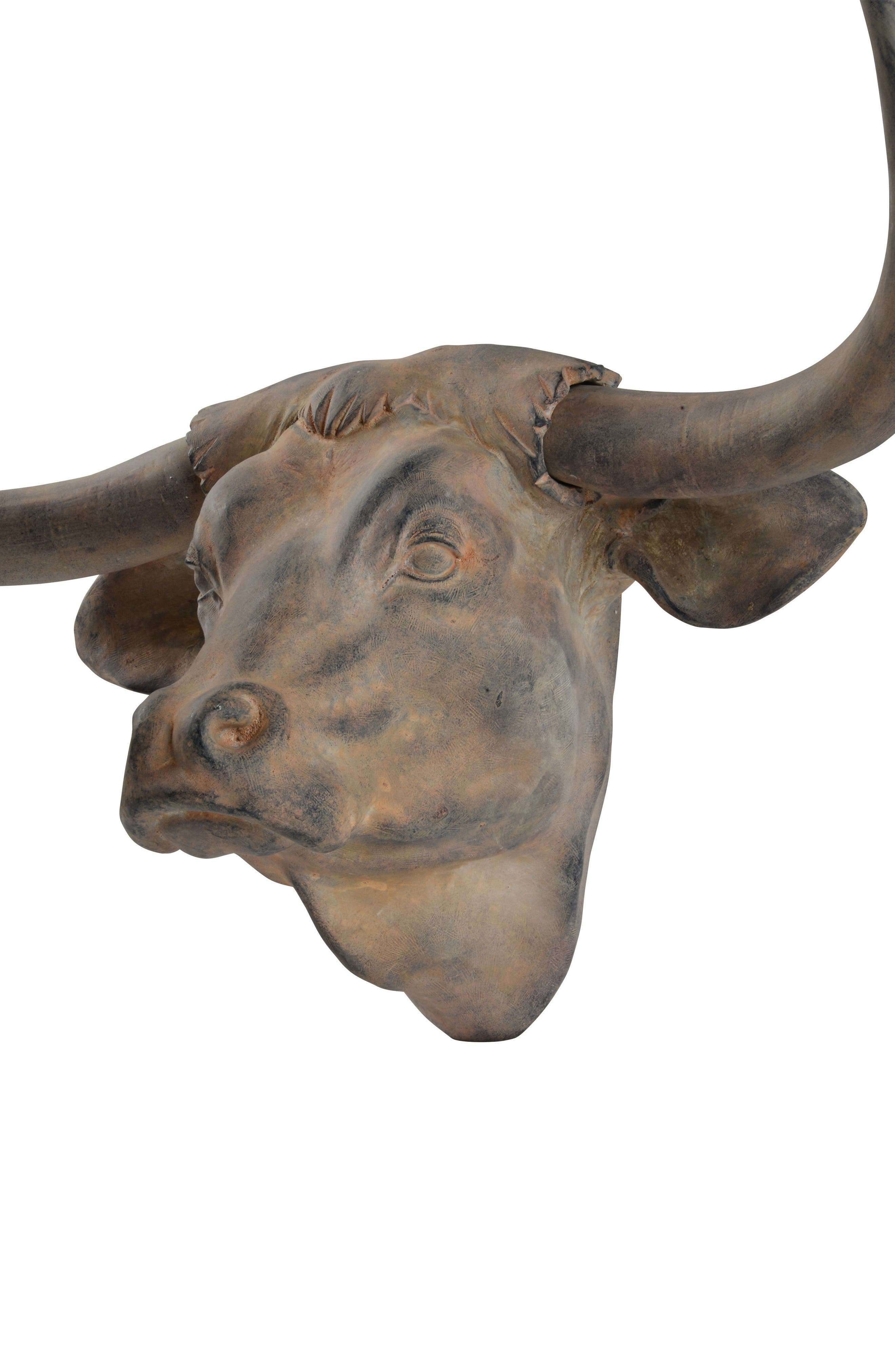Buffalo Bust,                             Alternate thumbnail 3, color,                             Antique Brown