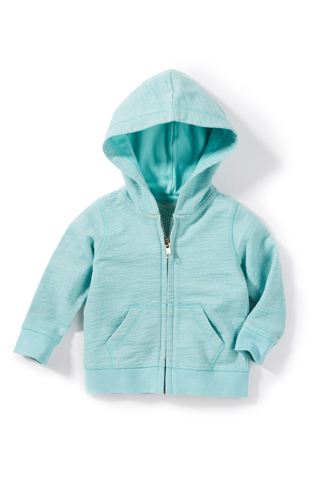 Peek Juniper Zip Up Hoodie,                         Main,                         color, Aqua