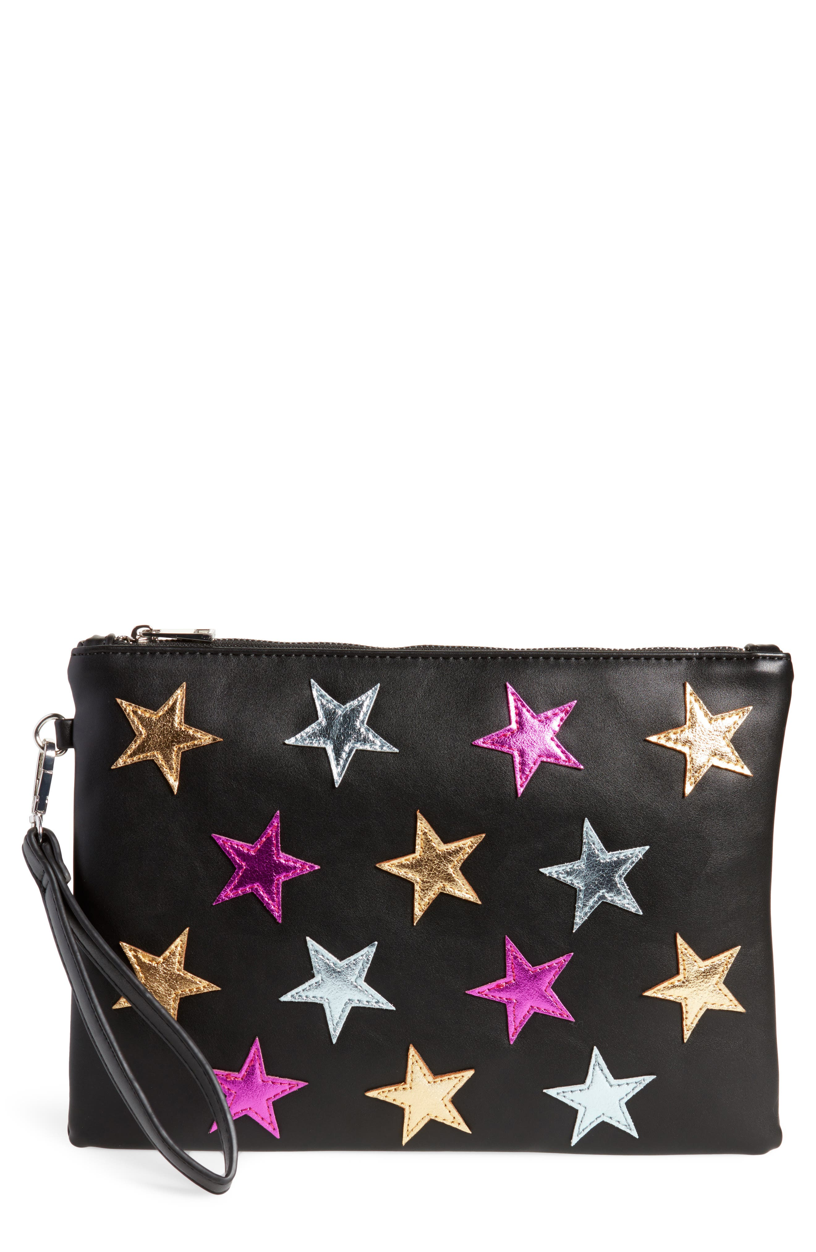 Main Image - Street Level Star Clutch
