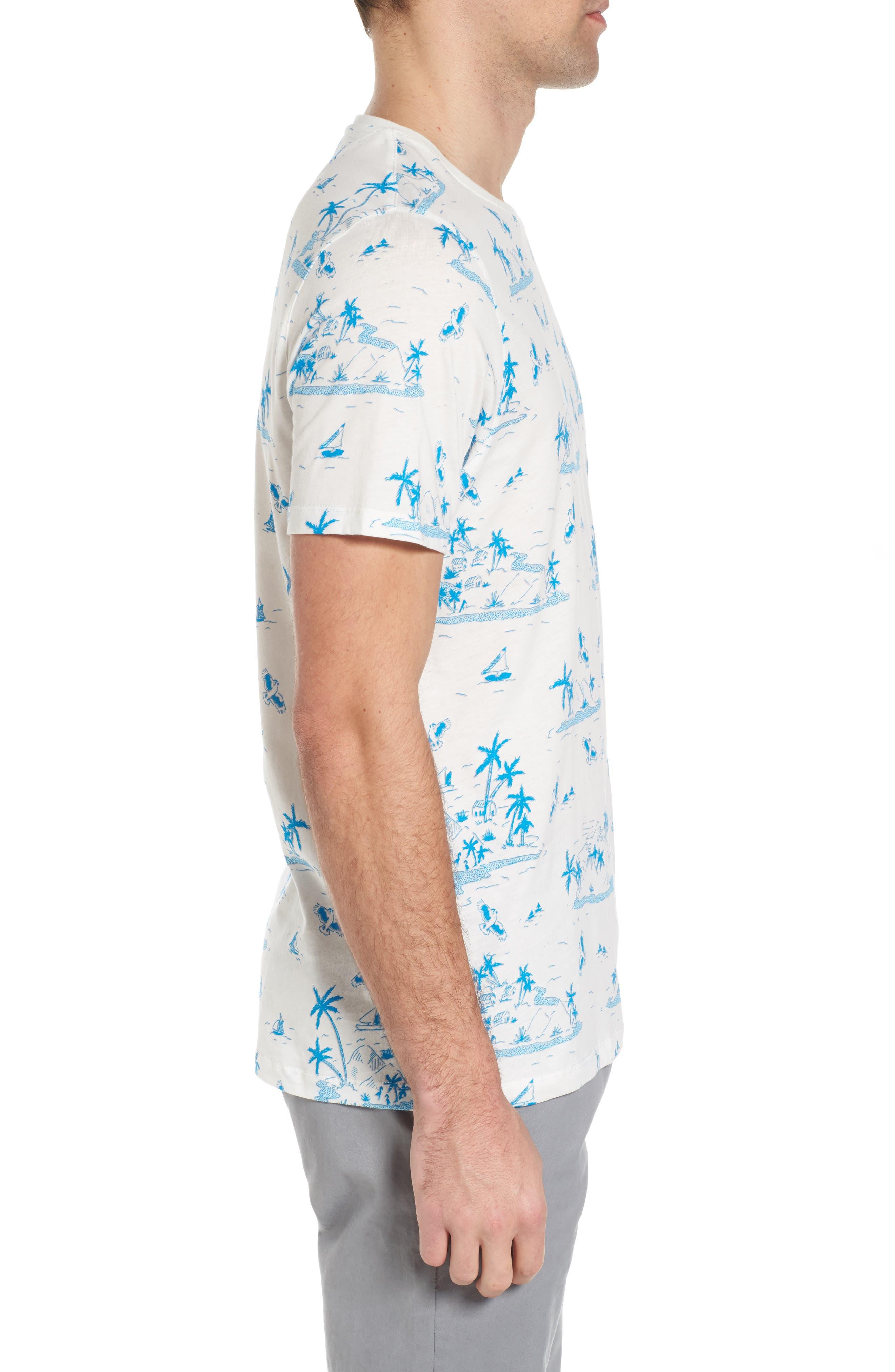Alternate Image 3  - Ted Baker London Lamp Island Print T-Shirt
