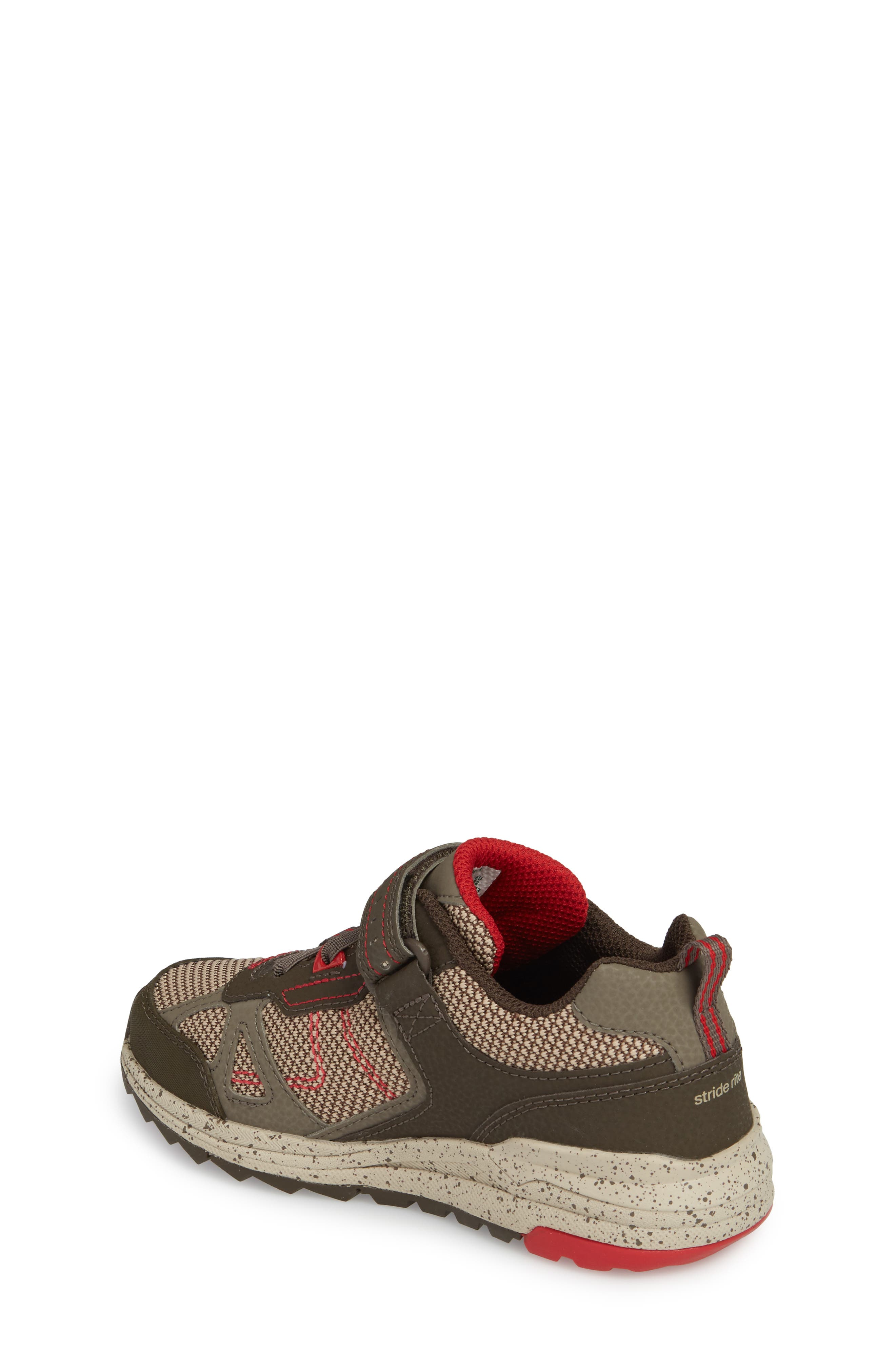 Made2Play<sup>®</sup> Owen Washable Sneaker,                             Alternate thumbnail 2, color,                             Brown Leather/ Textile