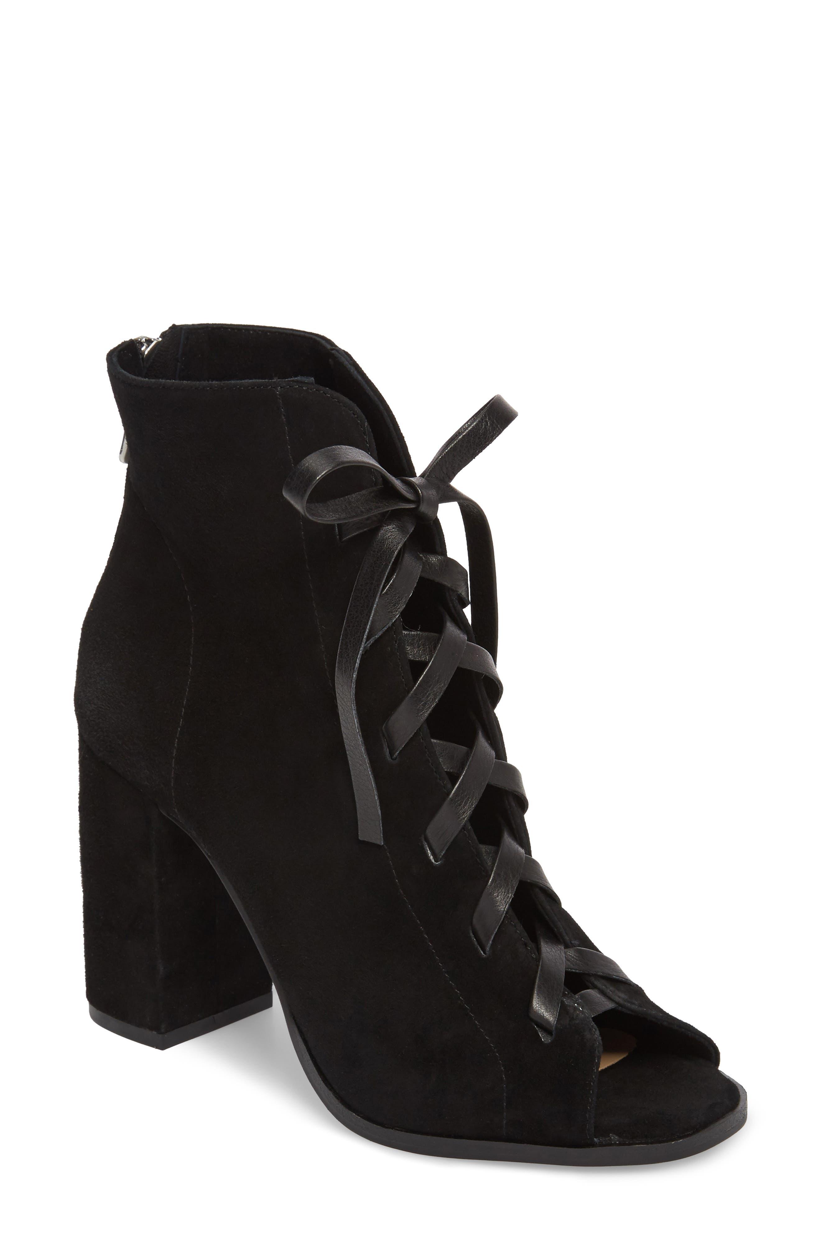 Alternate Image 1 Selected - Kristin Cavallari Layton Lace-Up Boot (Women)