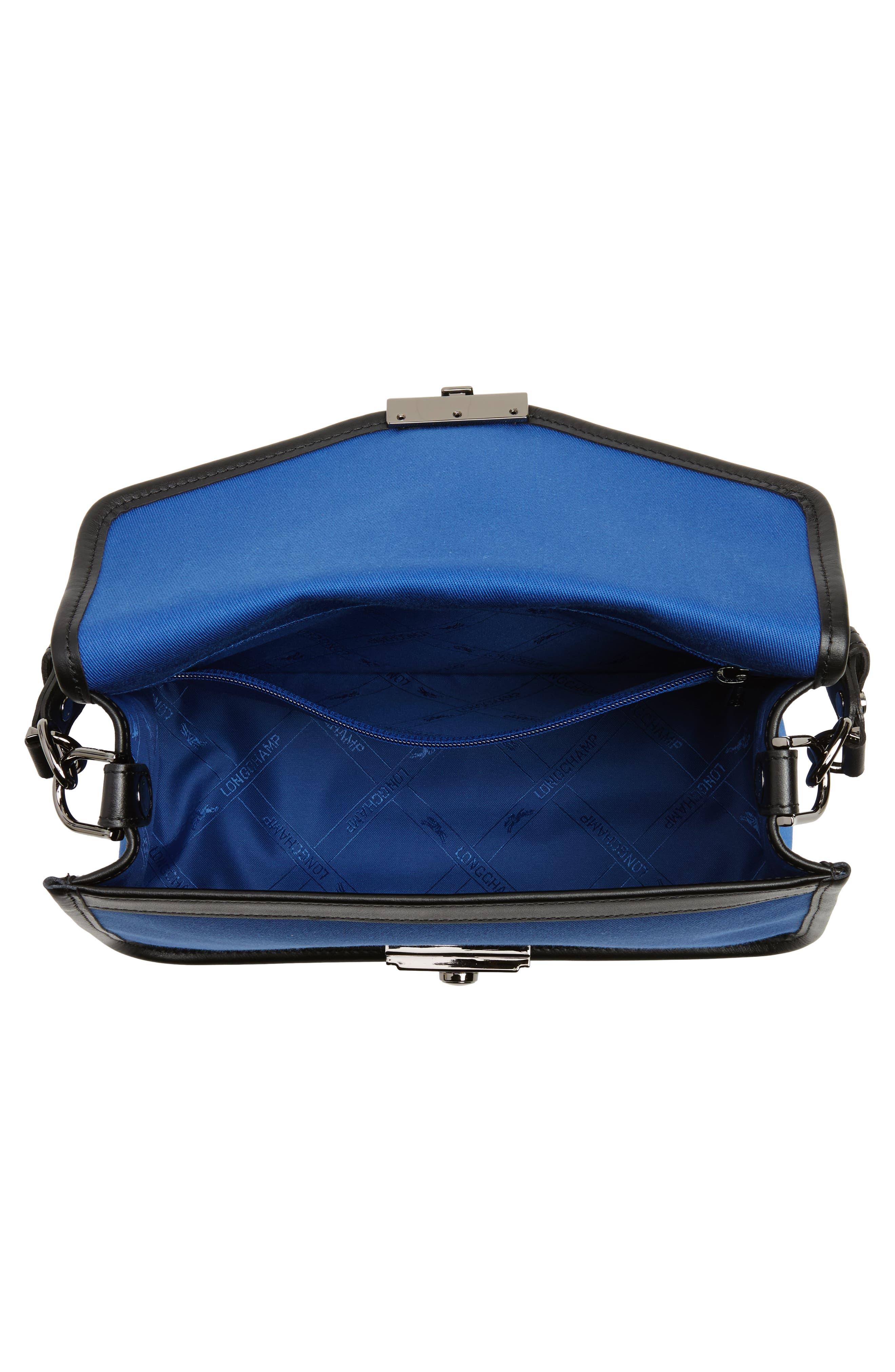Alternate Image 5  - Longchamp Mademoiselle Gabardine Canvas Shoulder Bag