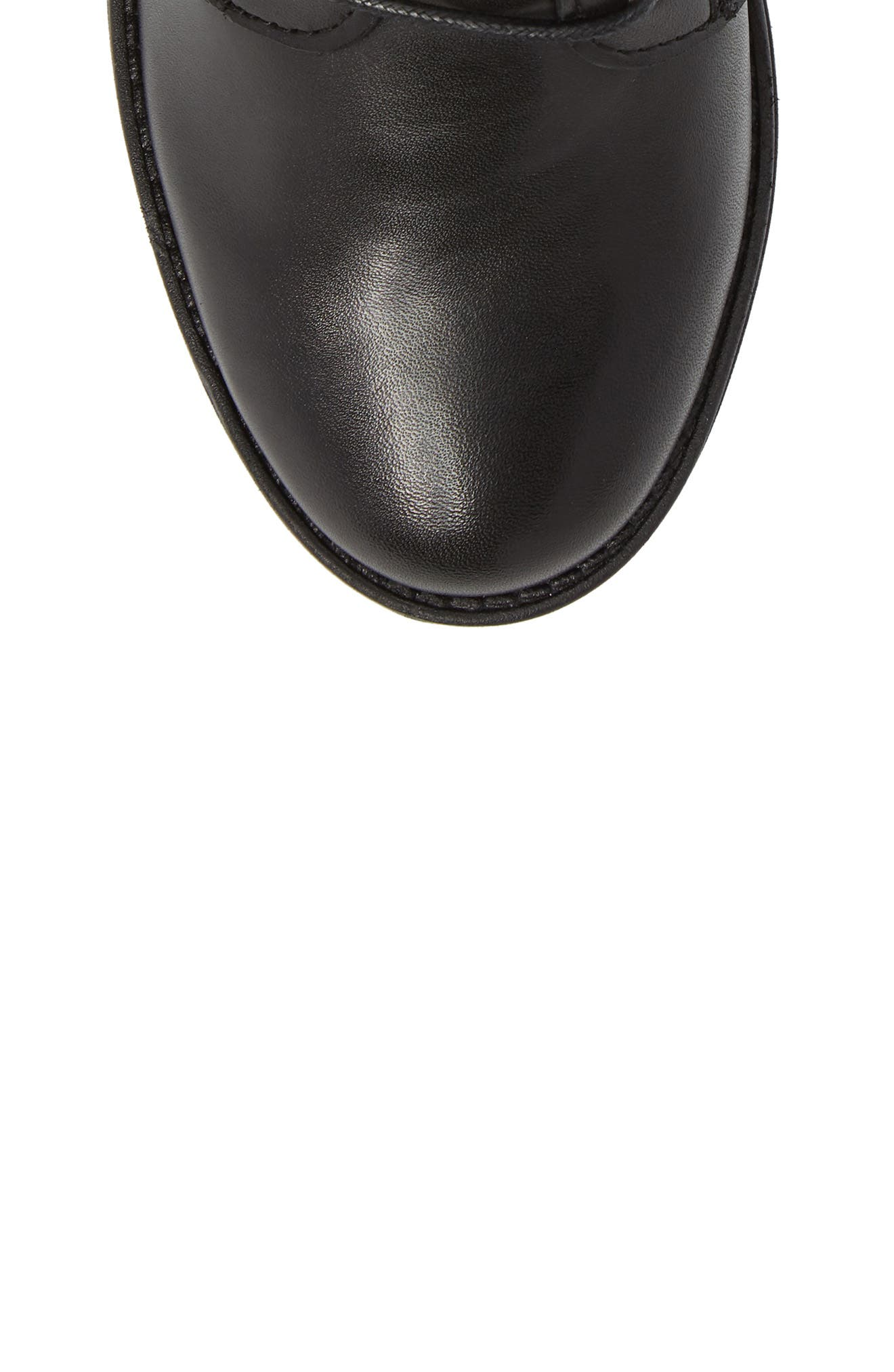 Gusto Boot,                             Alternate thumbnail 5, color,                             Black Leather