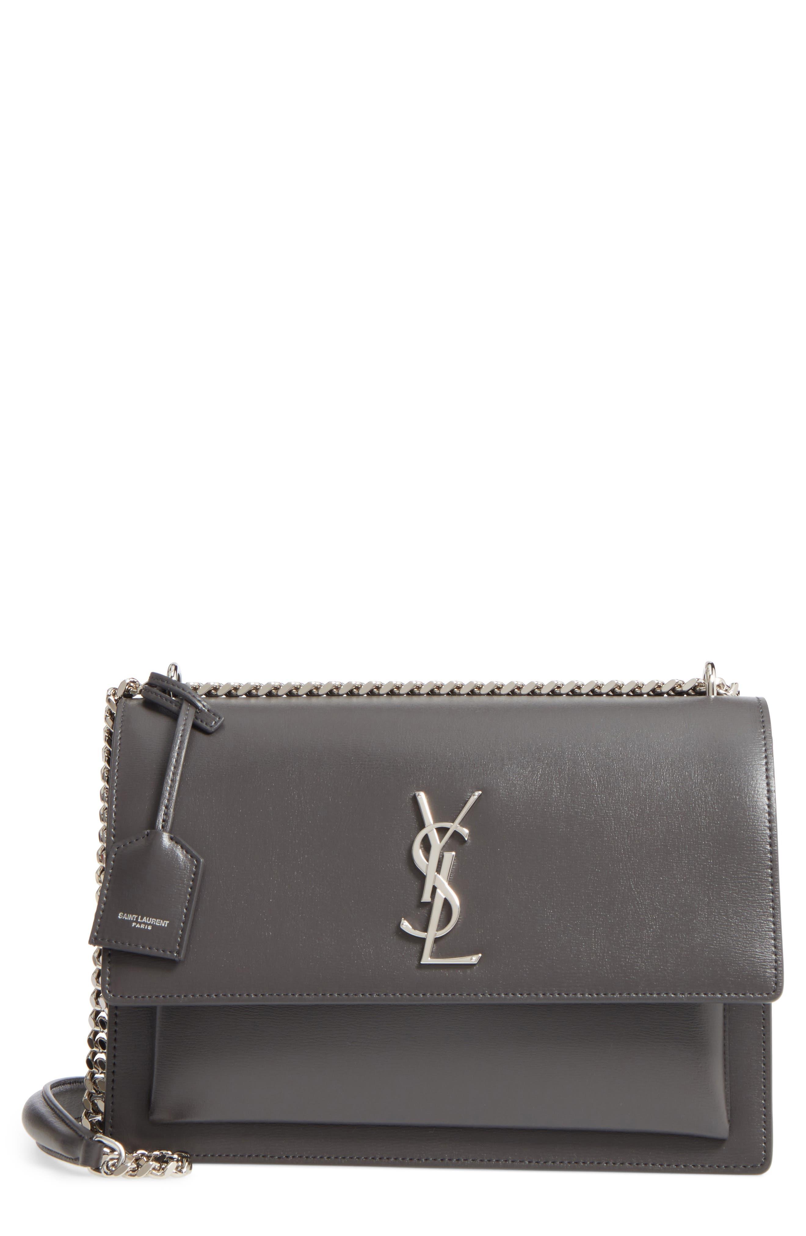 Saint Laurent Medium Sunset Leather Shoulder Bag