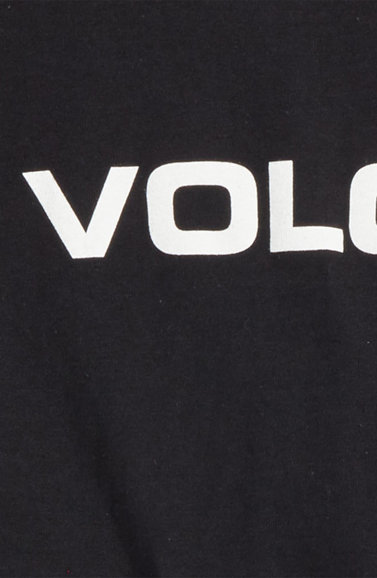 Crisp Euro T-Shirt,                             Alternate thumbnail 2, color,                             Black