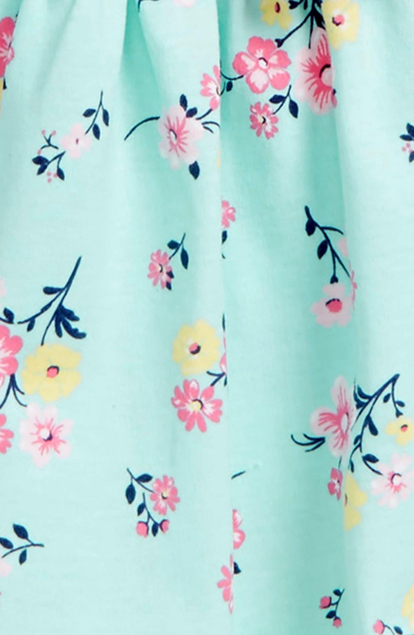 Alternate Image 2  - Little Me Floral Dress & Cardigan Set (Baby Girls)