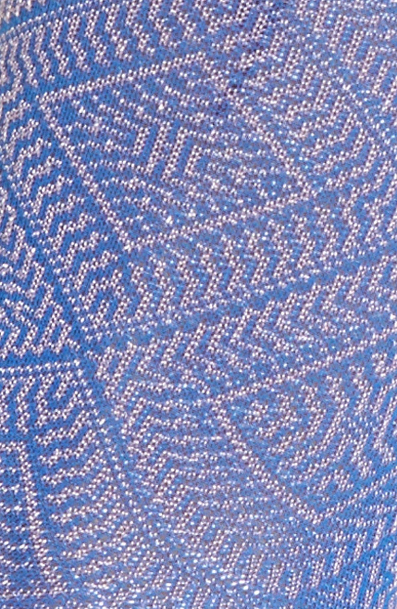 Jill Ankle Socks,                             Alternate thumbnail 2, color,                             Blue