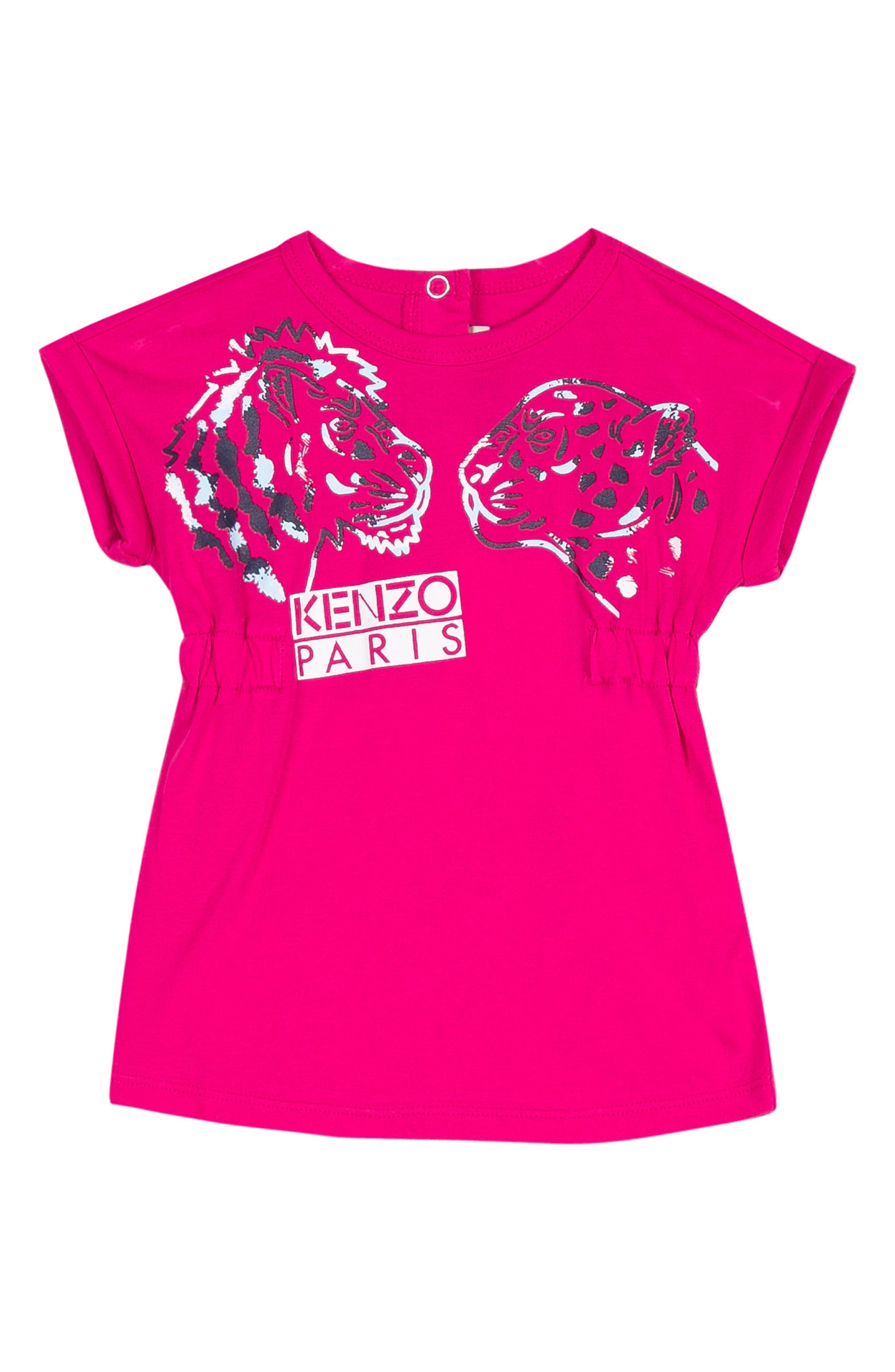 KENZO Logo T-Shirt Dress (Baby Girls)