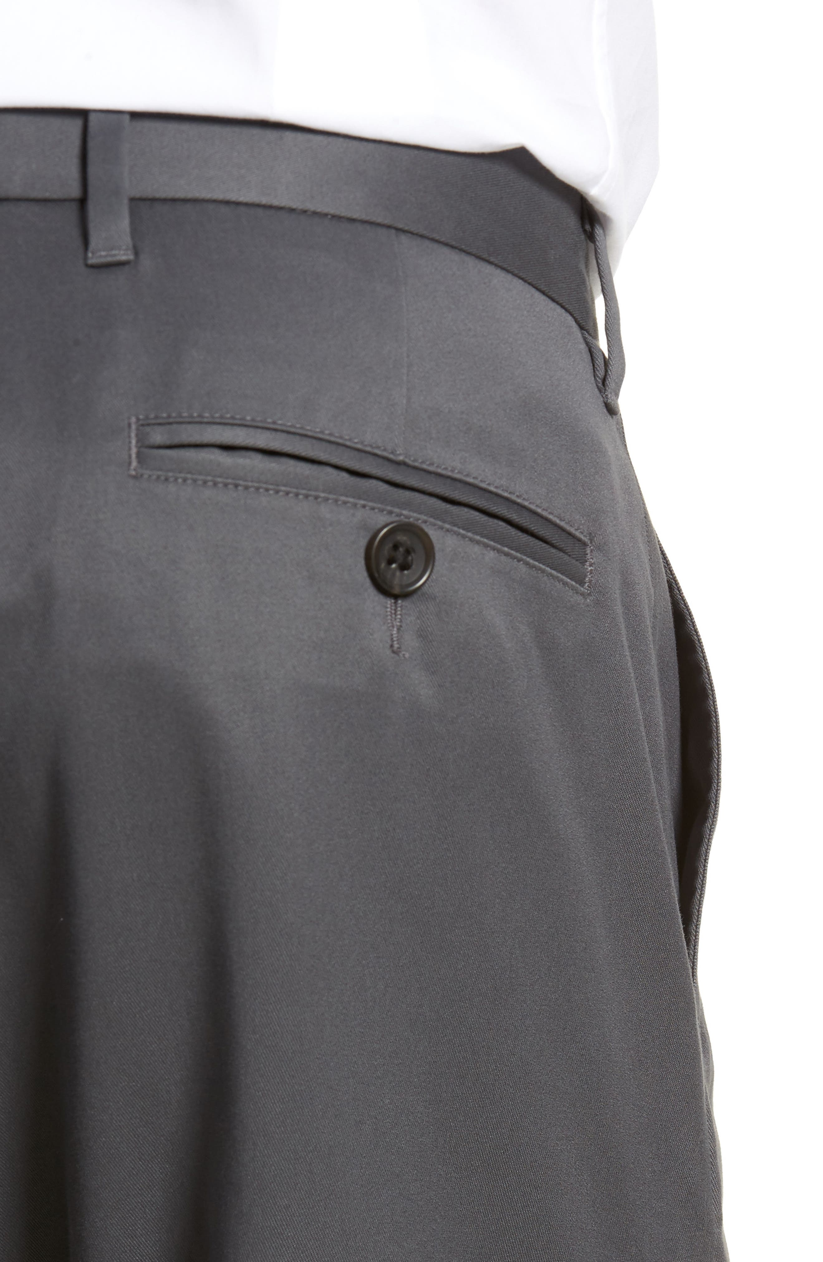 Alternate Image 4  - Nordstrom Men's Shop Athletic Fit Non-Iron Chinos