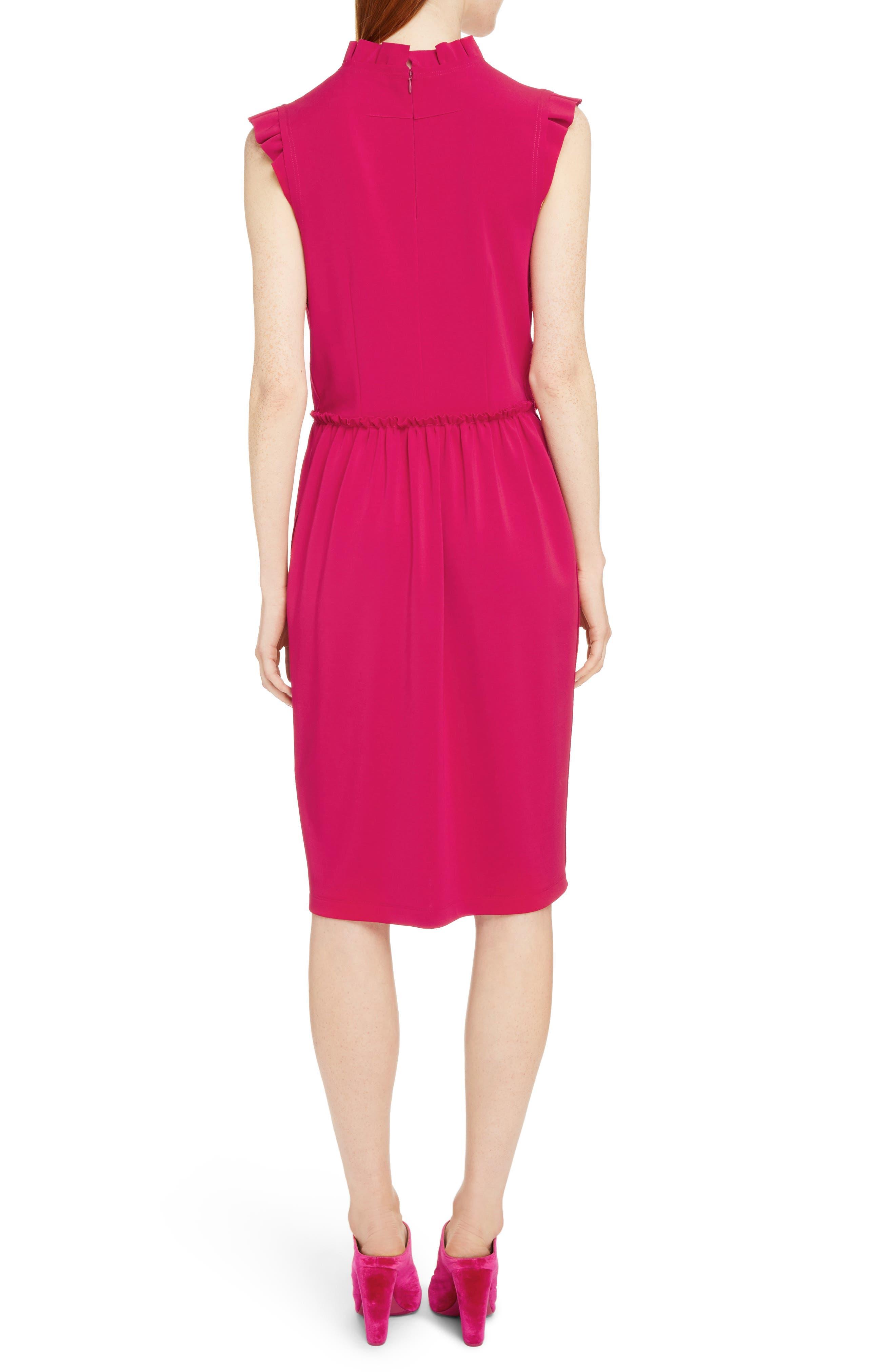 Alternate Image 2  - Givenchy Ruffle Trim Jersey Dress