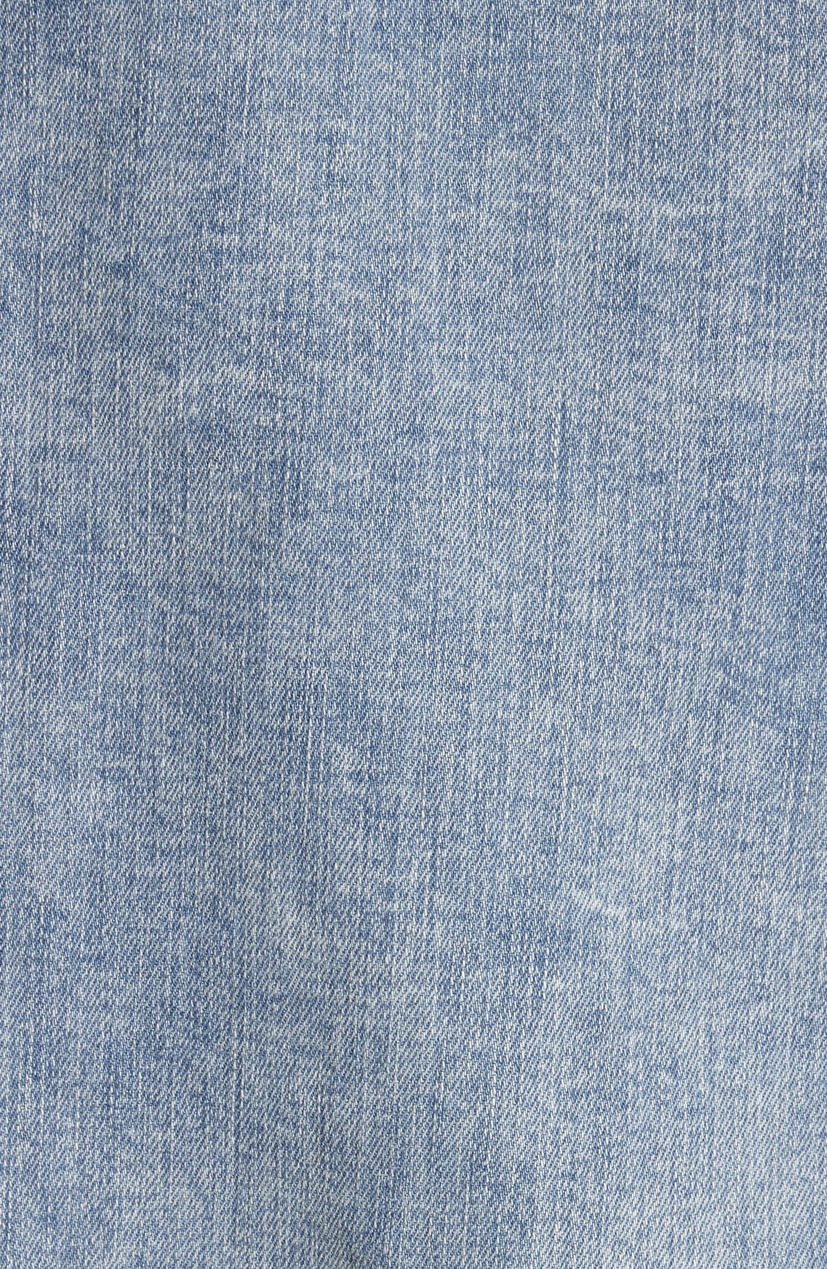 Alternate Image 5  - L'AGENCE Karina Shadow Pocket Denim Jacket