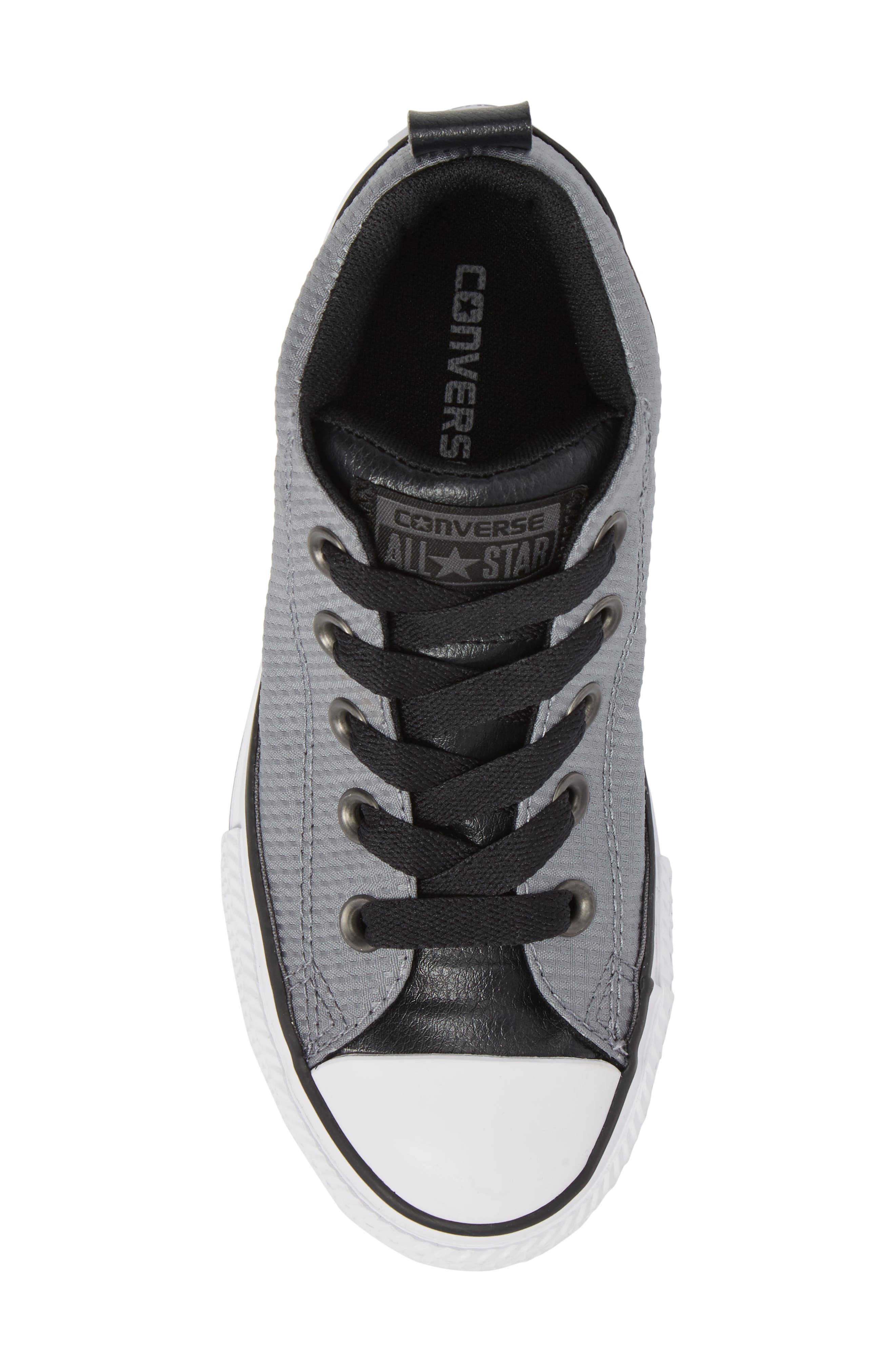 Chuck Taylor<sup>®</sup> All Star<sup>®</sup> Street Mid Backpack Sneaker,                             Alternate thumbnail 5, color,                             Cool Grey