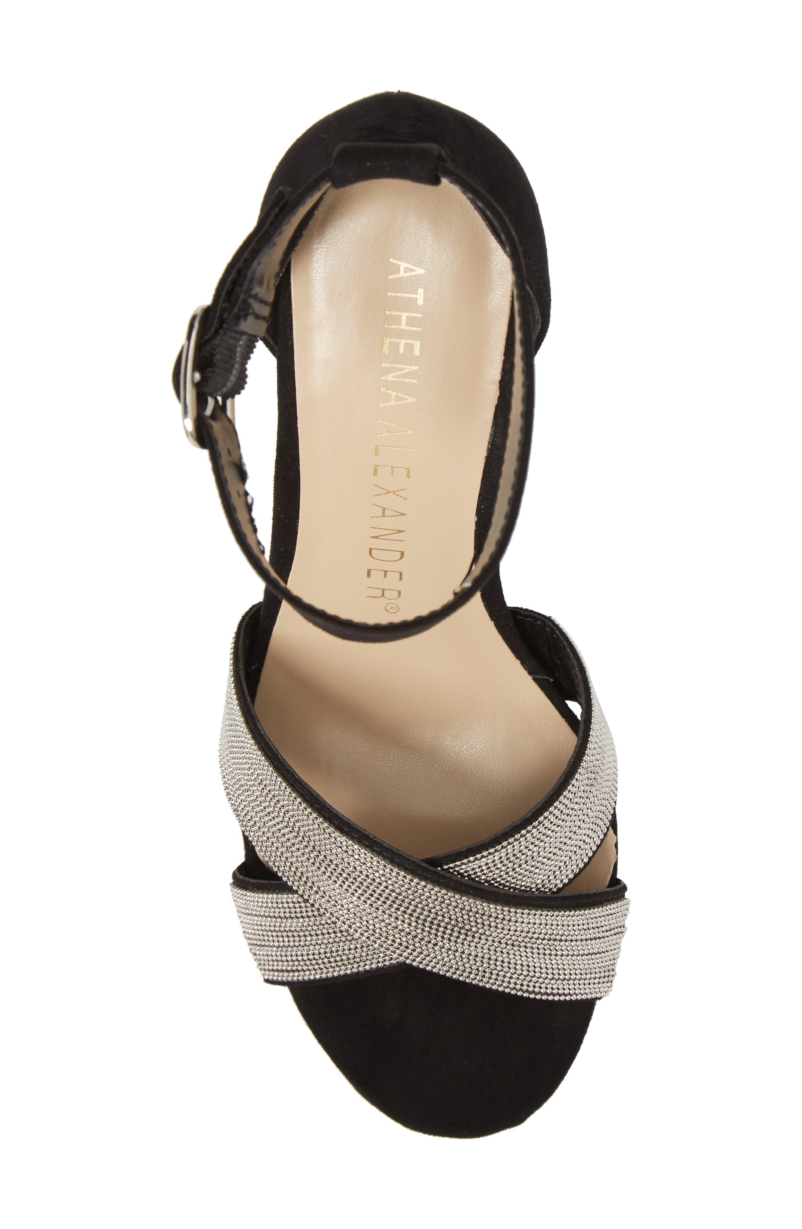 Alternate Image 5  - Athena Alexander Zorra Wedge Sandal (Women)