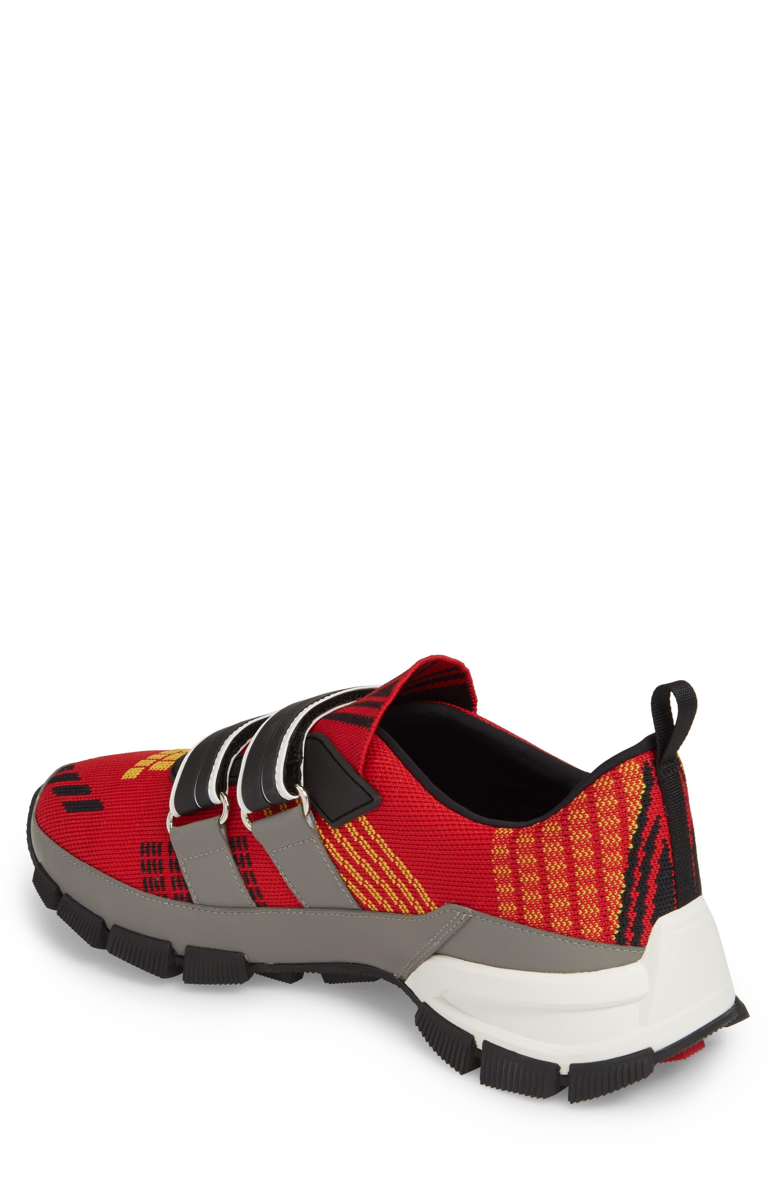 Linea Rossa Strap Sneaker,                             Alternate thumbnail 2, color,                             Scarlatto Red