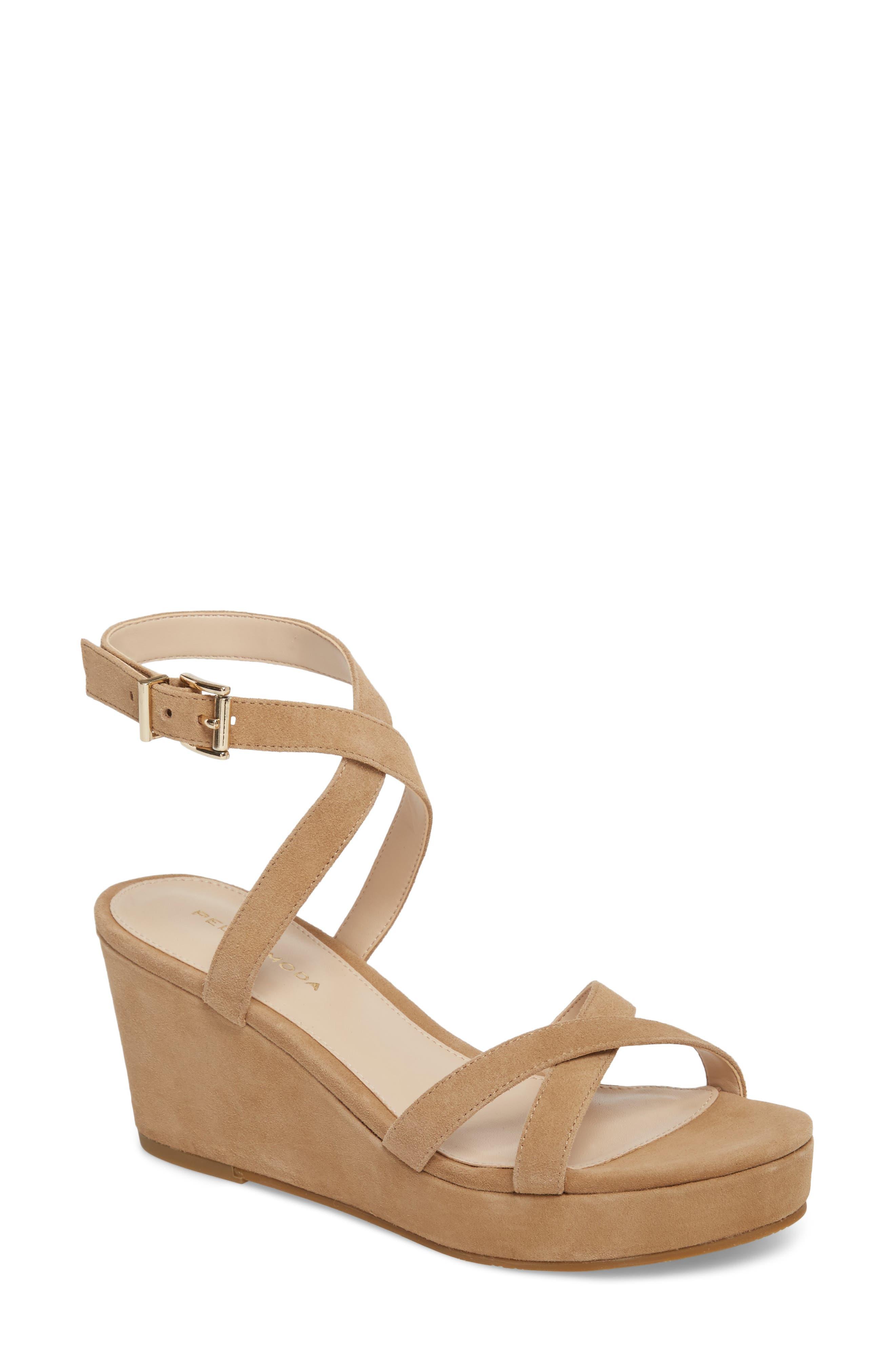 Alternate Image 1 Selected - Pelle Moda Keo2 Platform Wedge Sandal (Women)