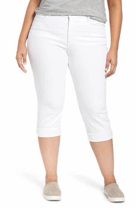 NYDJ Marilyn Crop Cuff Jeans (Plus Size) by NYDJ