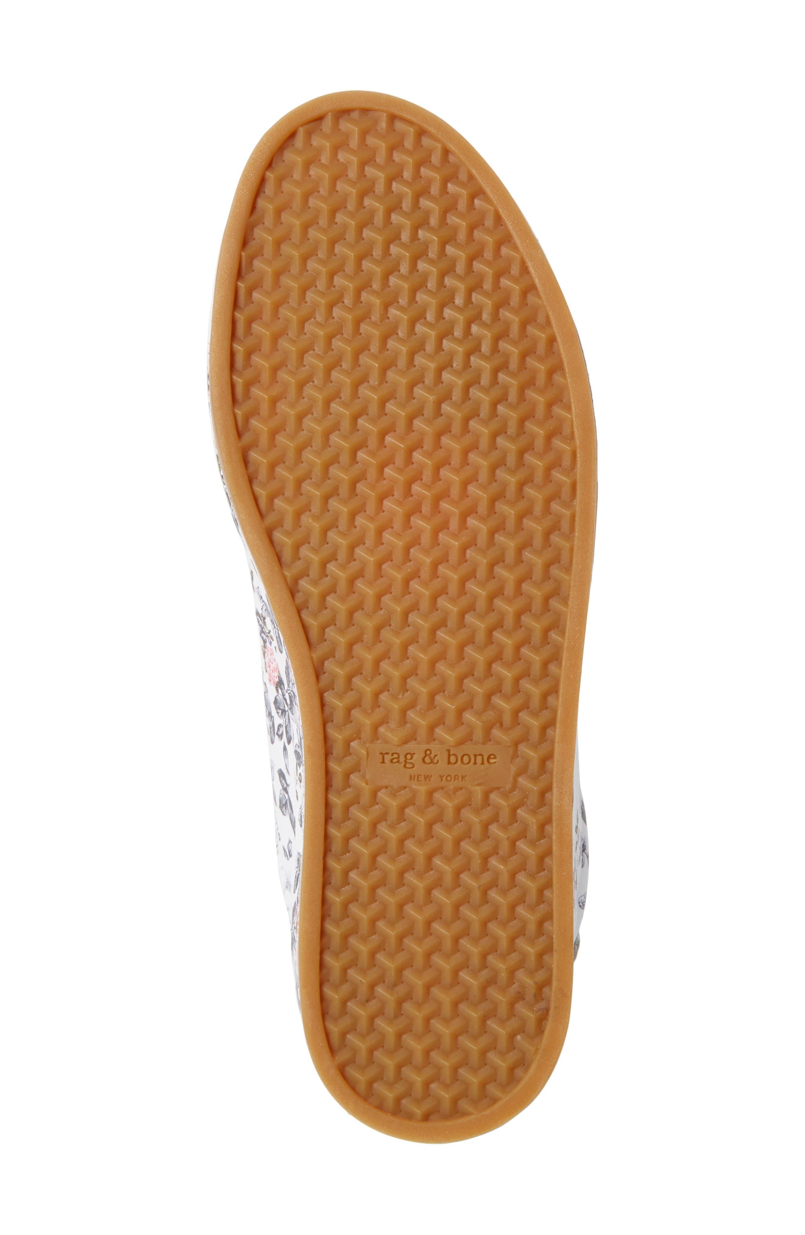 RB1 Low-Top Sneaker,                             Alternate thumbnail 6, color,                             Garden Florl