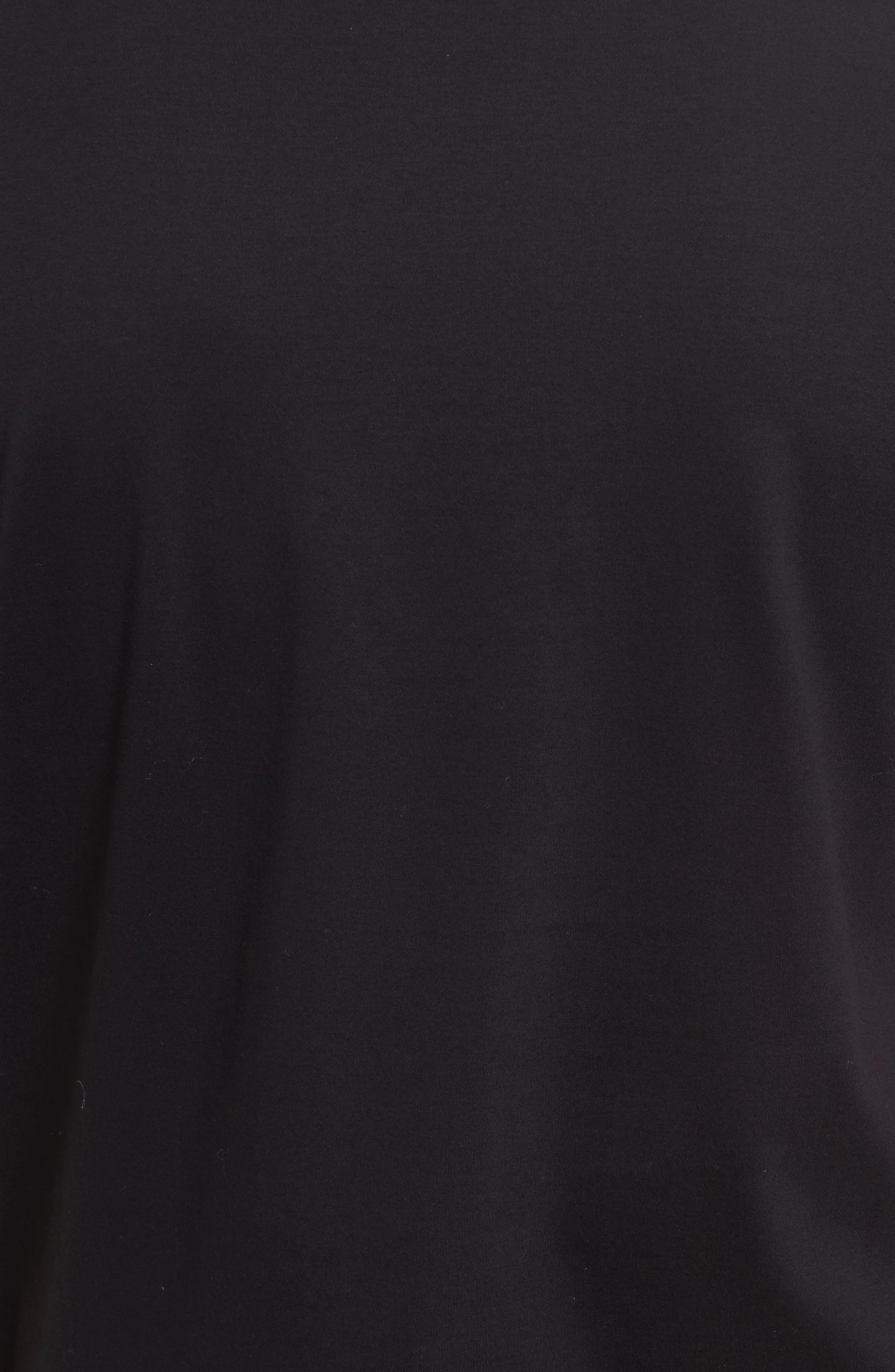 Tessler Mercedes Slim Fit Crewneck T-Shirt,                             Alternate thumbnail 5, color,                             Black