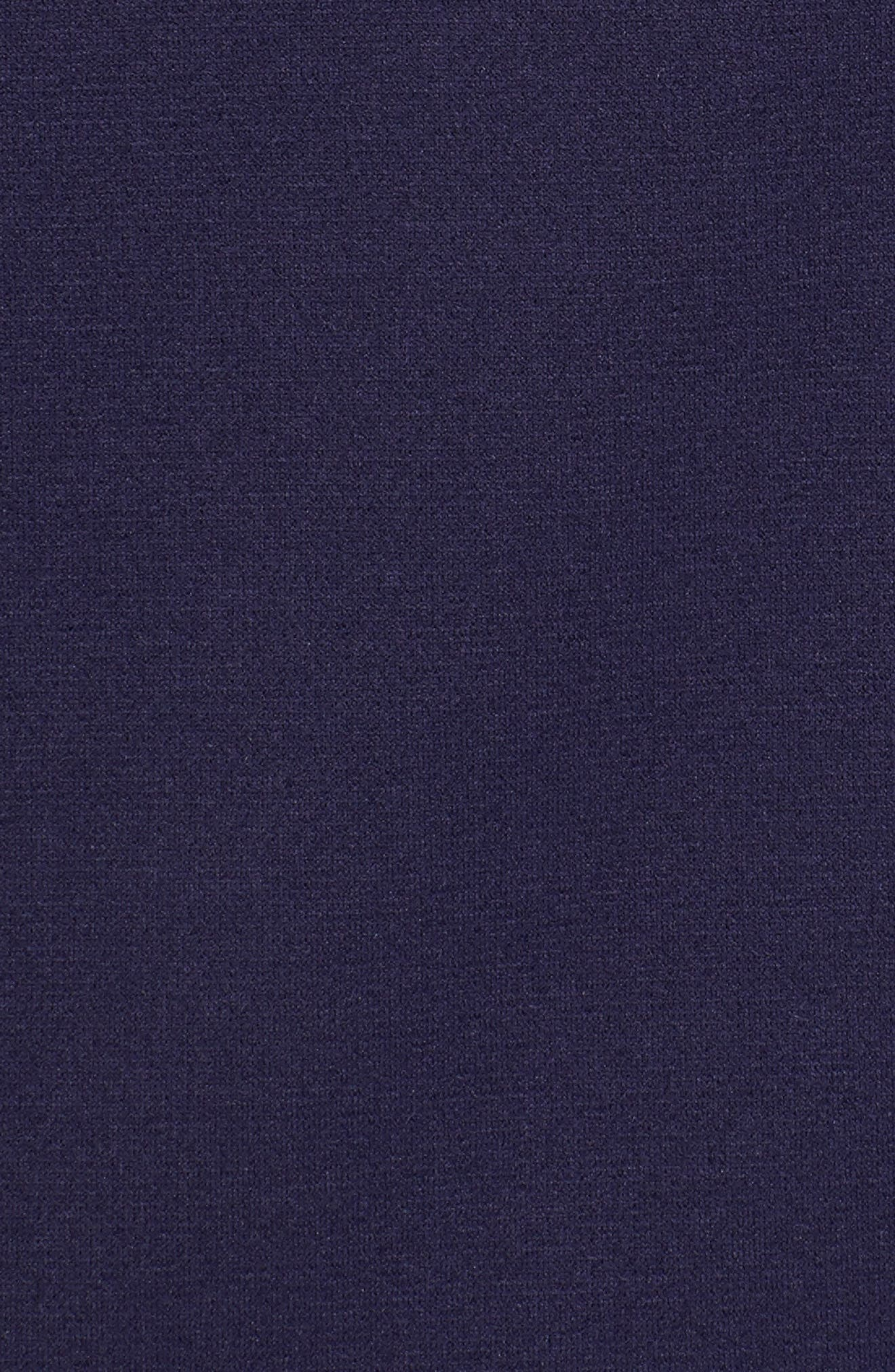 Sheffield Hybrid Half Zip Pullover,                             Alternate thumbnail 5, color,                             Yankee Blue